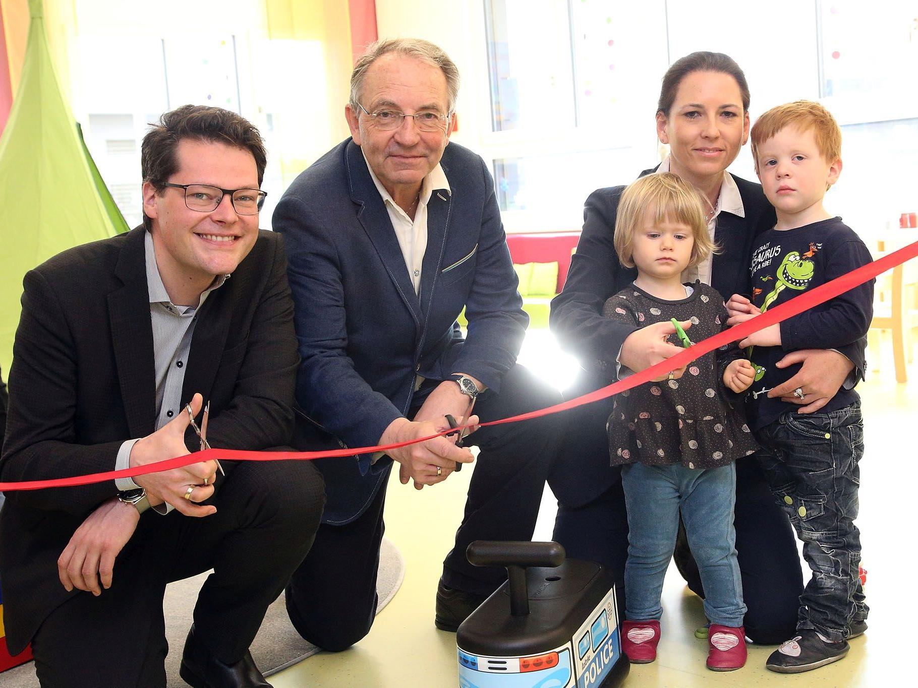 In der Goldeggasse wurde ein neuer Kindergarten eröffnet.