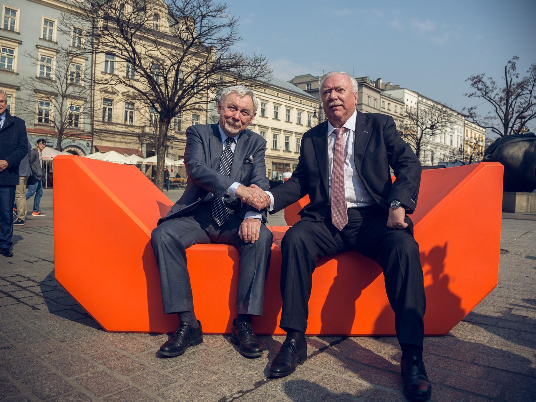 Die Partnerschaft zwischen Wien und Krakau wurde erneuert.