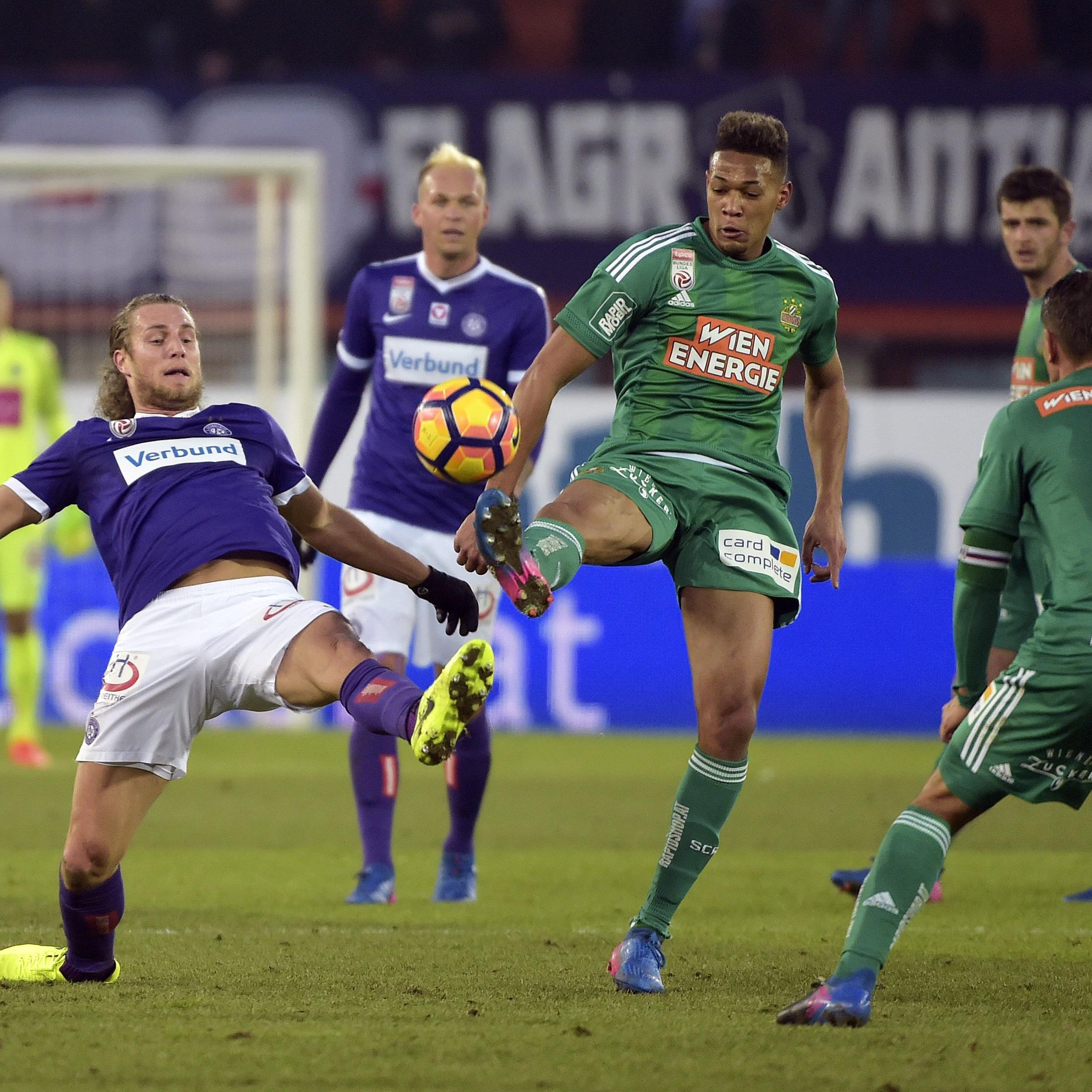 Derby-Time in Wien: Rapid empfängt am Sonntagnachmittag die Austria.