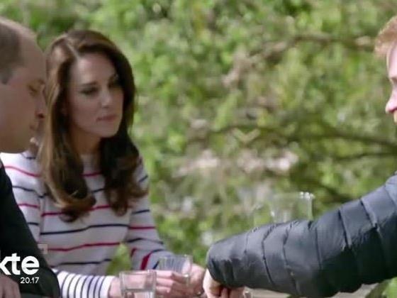 Kate moderierte das Gespräch zwischen William und Harry.