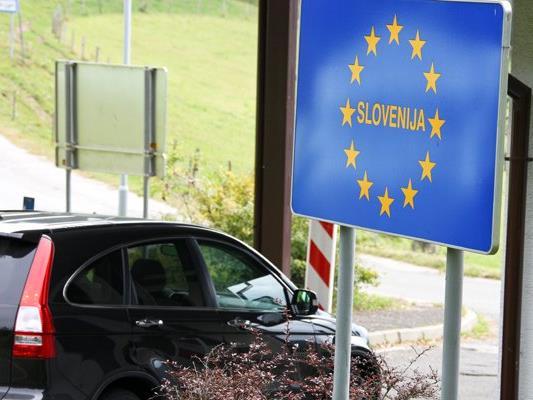 Bei der Einreise an den Grenzen zu Slowenien wird ab Freitag streng kontrolliert.