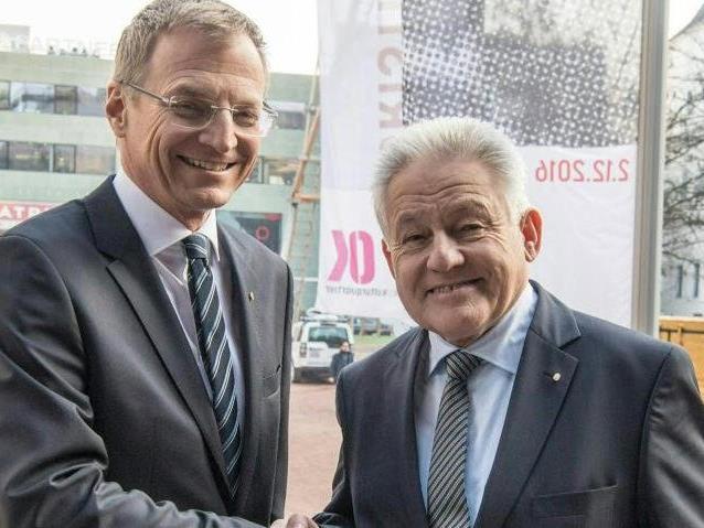 Machtübergabe in Oberösterreich
