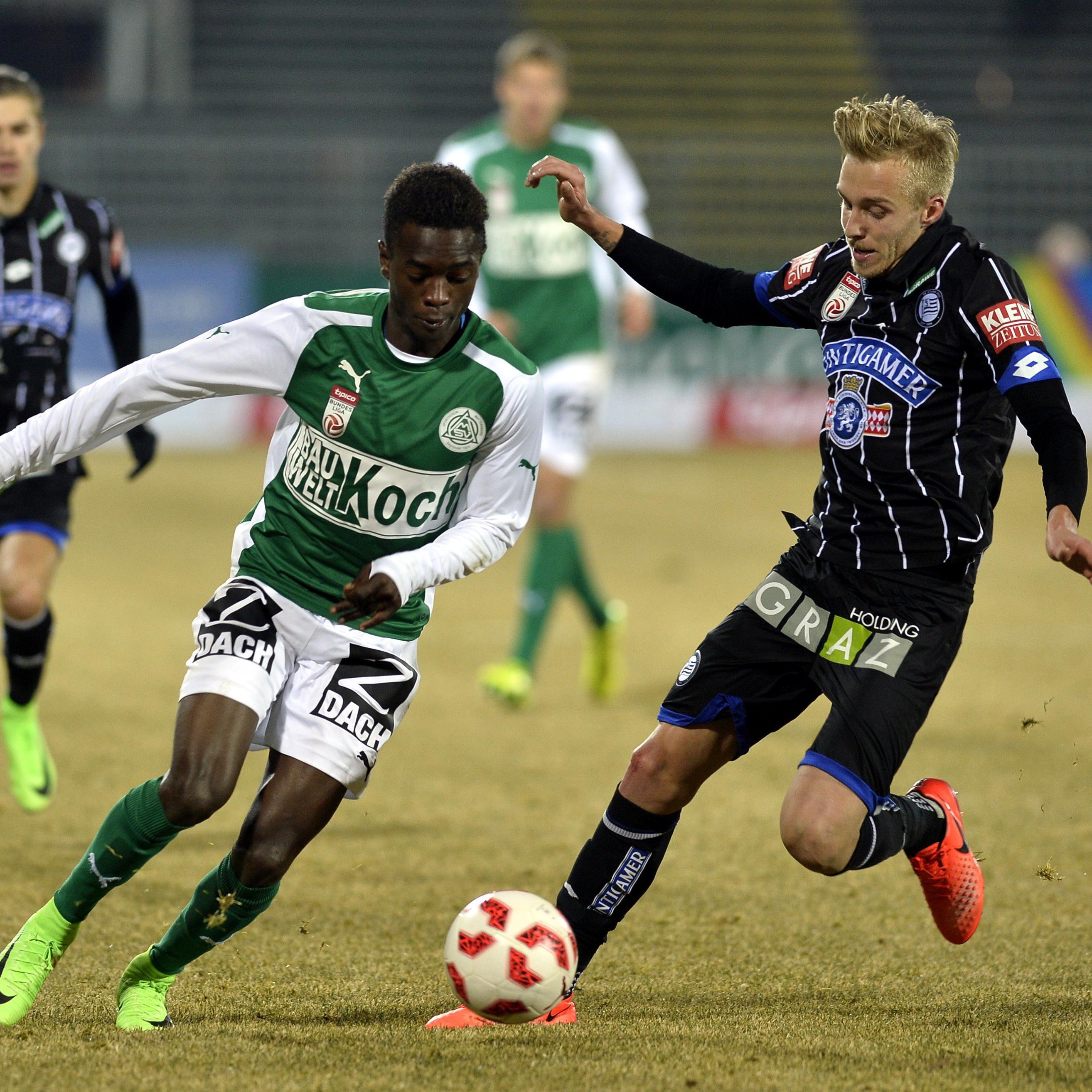 LIVE-Ticker zum Spiel SK Sturm Graz gegen SV Mattersburg ab 18.30 Uhr.