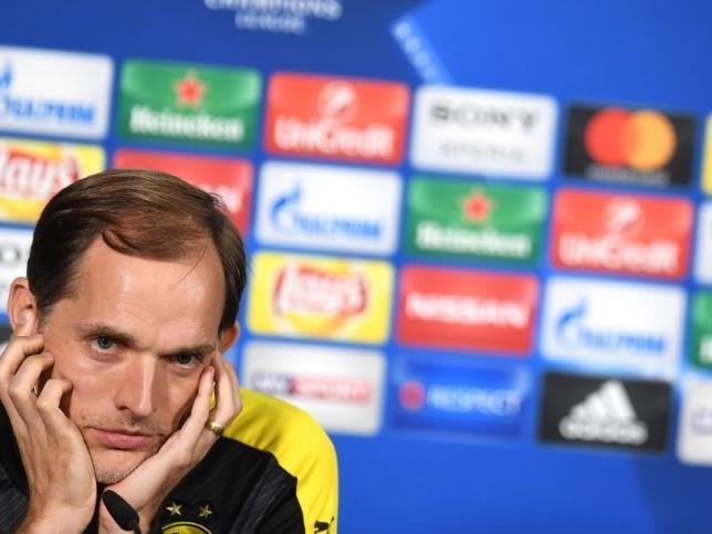 Sichtlich mitgenommen: BVB-Coach Thomas Tuchel.