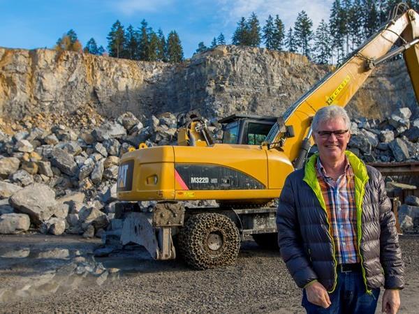 Rohstoffe für die Bauwirtschaft sind in Tirol um bis zu 50 Prozent billiger als in Vorarlberg.