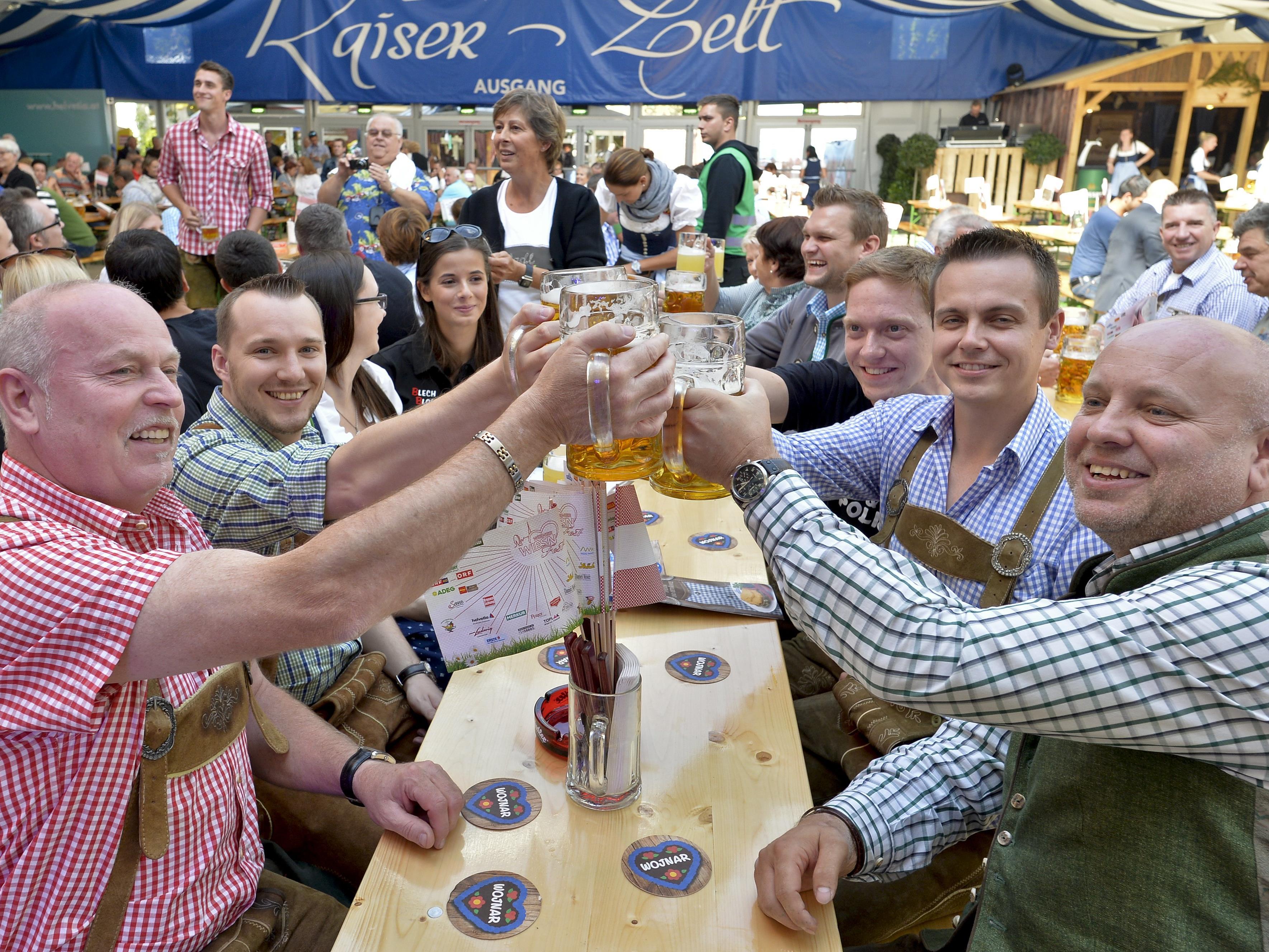 Die Wiener Wiesn wird weiterhin auf der Kaiserwiese im Prater stattfinden.