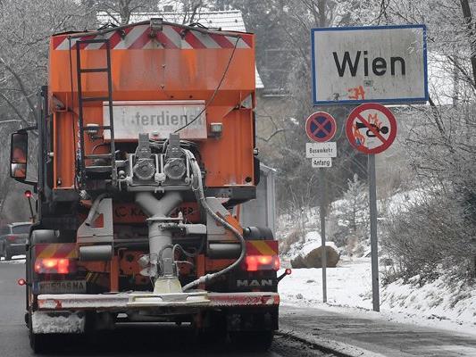 Auch in Wien muss man ab Mittwoch mit Schneefall rechnen.