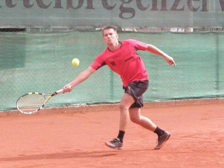 Markus Tantscher und seine Teamkollegen vom UTC Egg möchten den Finaleinzug schaffen.