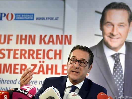 Strache würde gerne Anfang Oktober wählen gehen