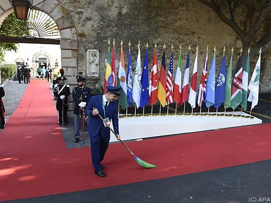 Zweiter Tag beim G-7-Treffen
