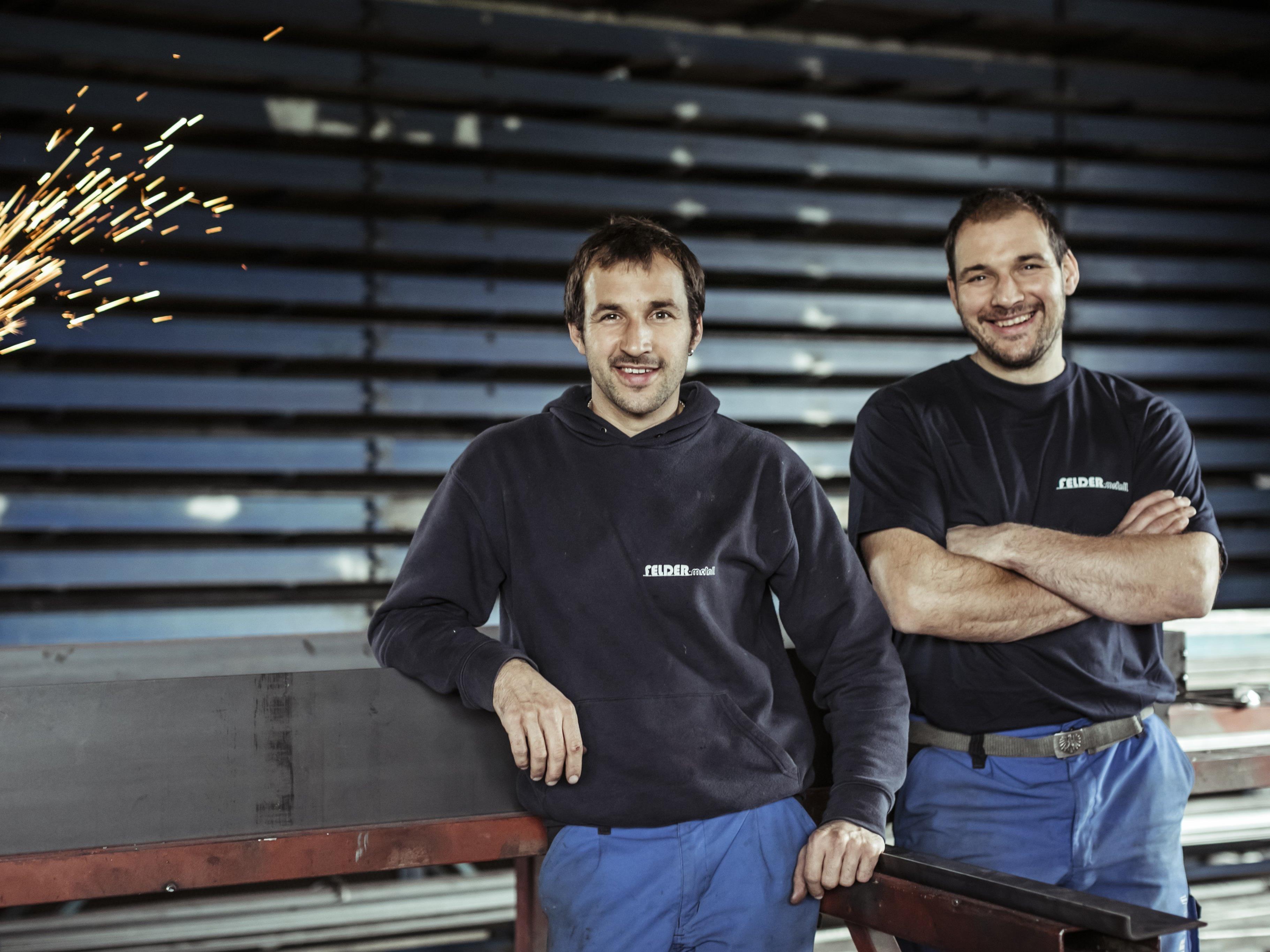Die Brüder Jodok und Konrad Felder