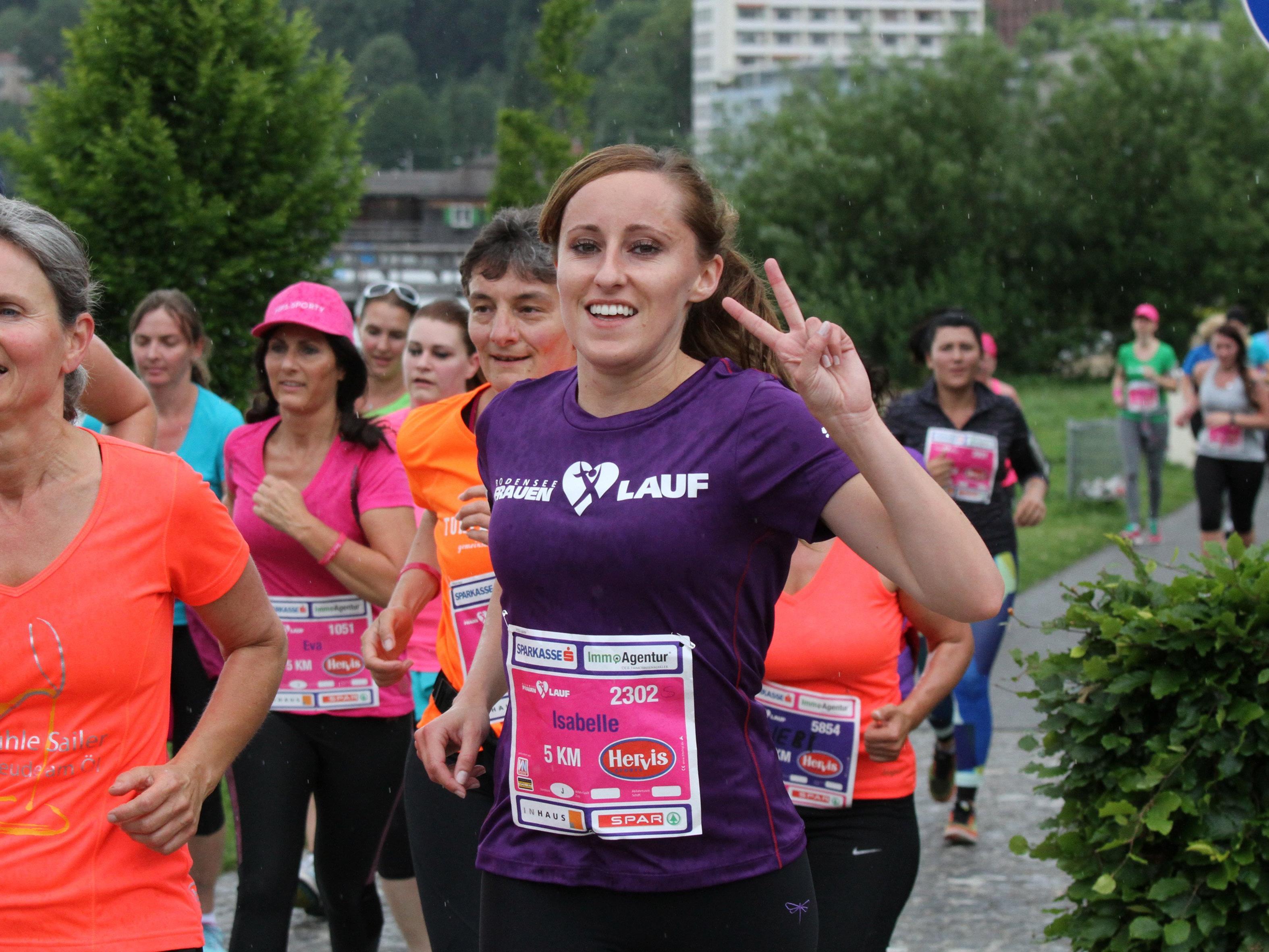 Bereits zum achten Mal startet der Frauenlauf am Bodensee.