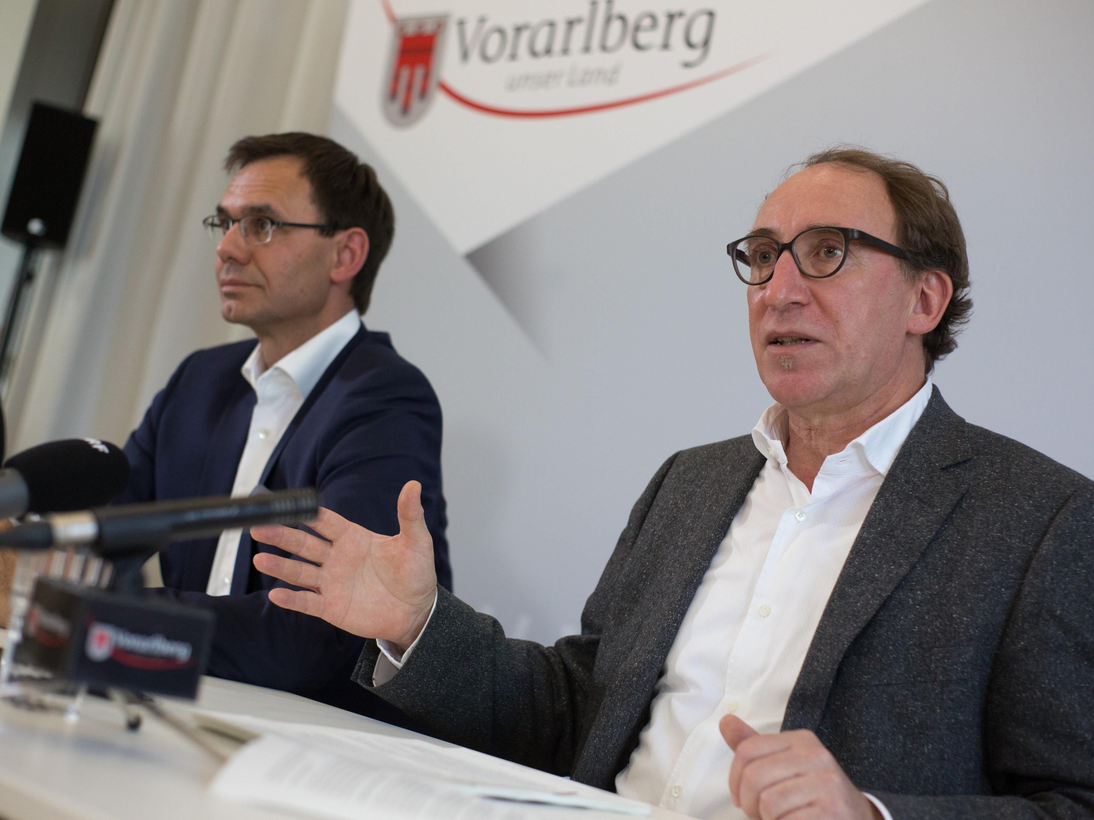 Landes-SPÖ und Grüne Contra Wallner.