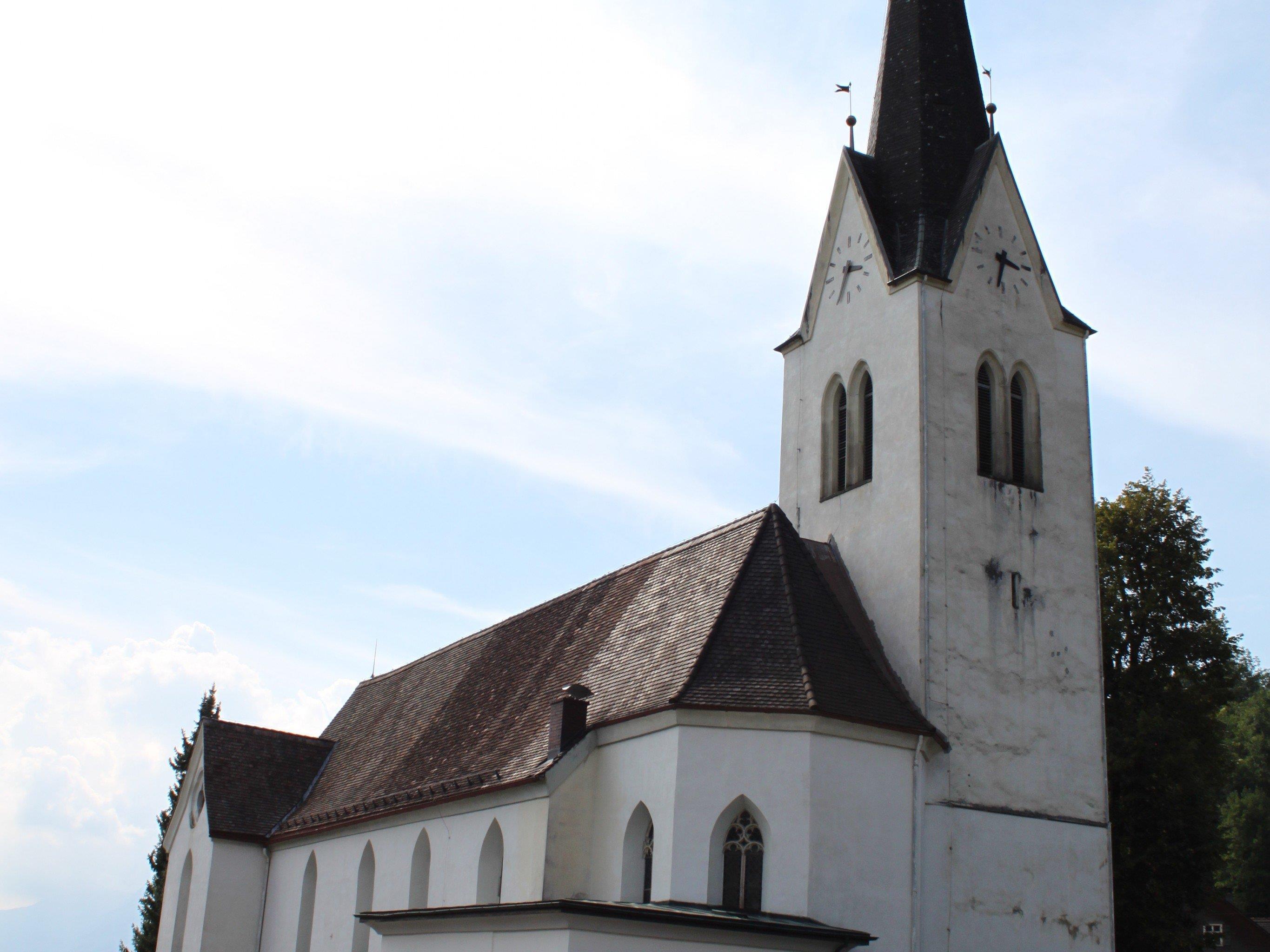 Kirche Hl. Agnes in Klaus.