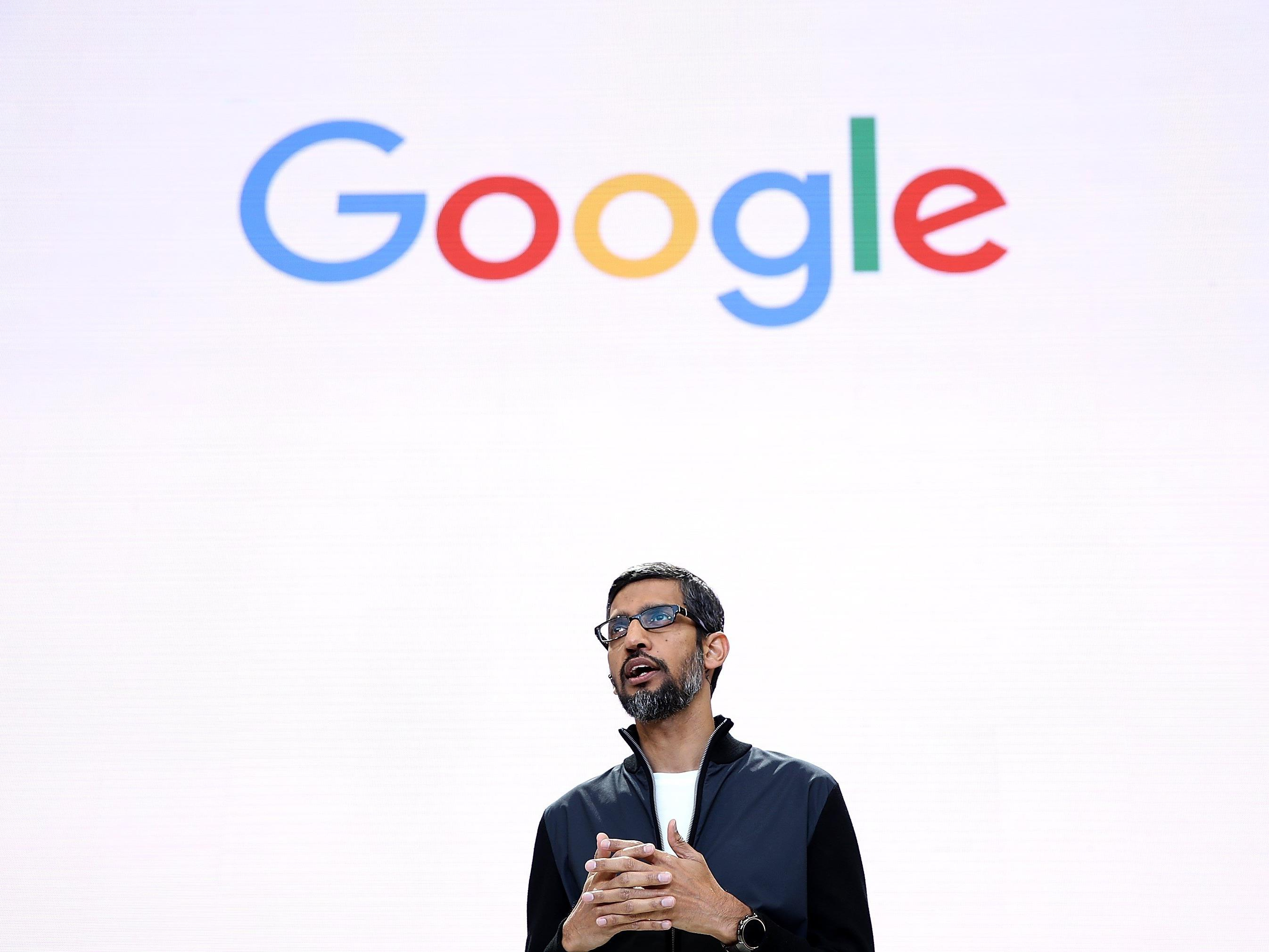 CEO Sundar Pichai eröffnete die Entwickerkonferenz von Google.