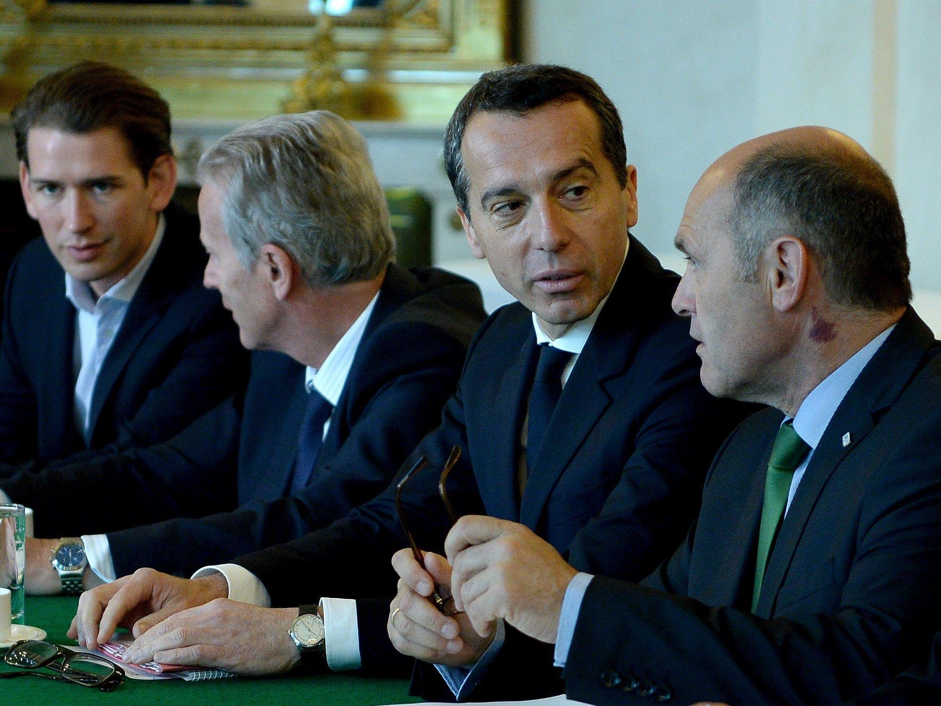 """Kern fordert """"Vernunft"""" vom Koalitionspartner."""