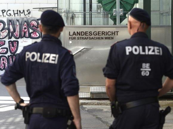 Im Wiener Landegericht für Strafsachen wird am 7. Juni ein Hochsicherheitsprozess geführt.
