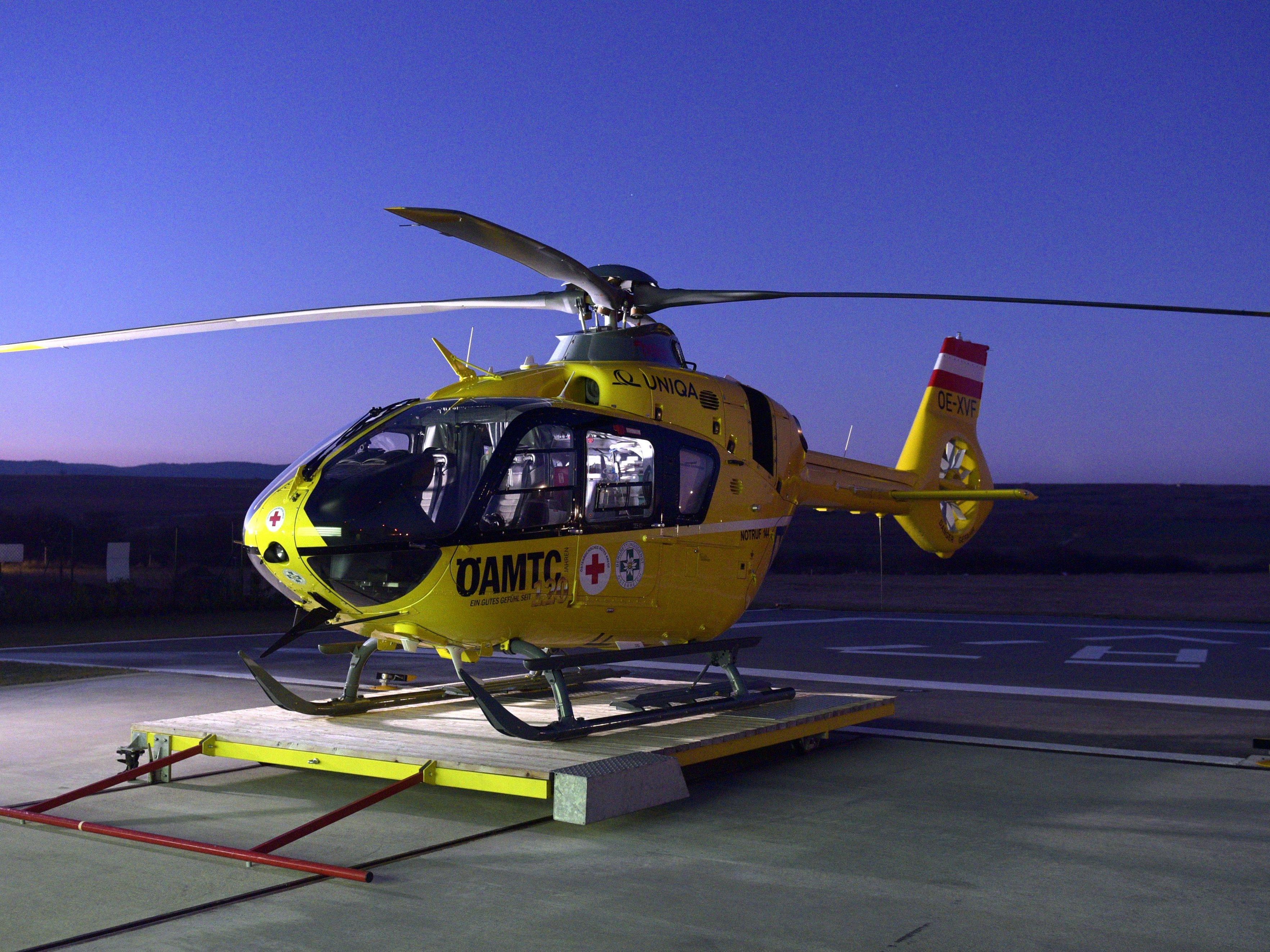 Die Schwerverletzte wurde in ein Spital geflogen.