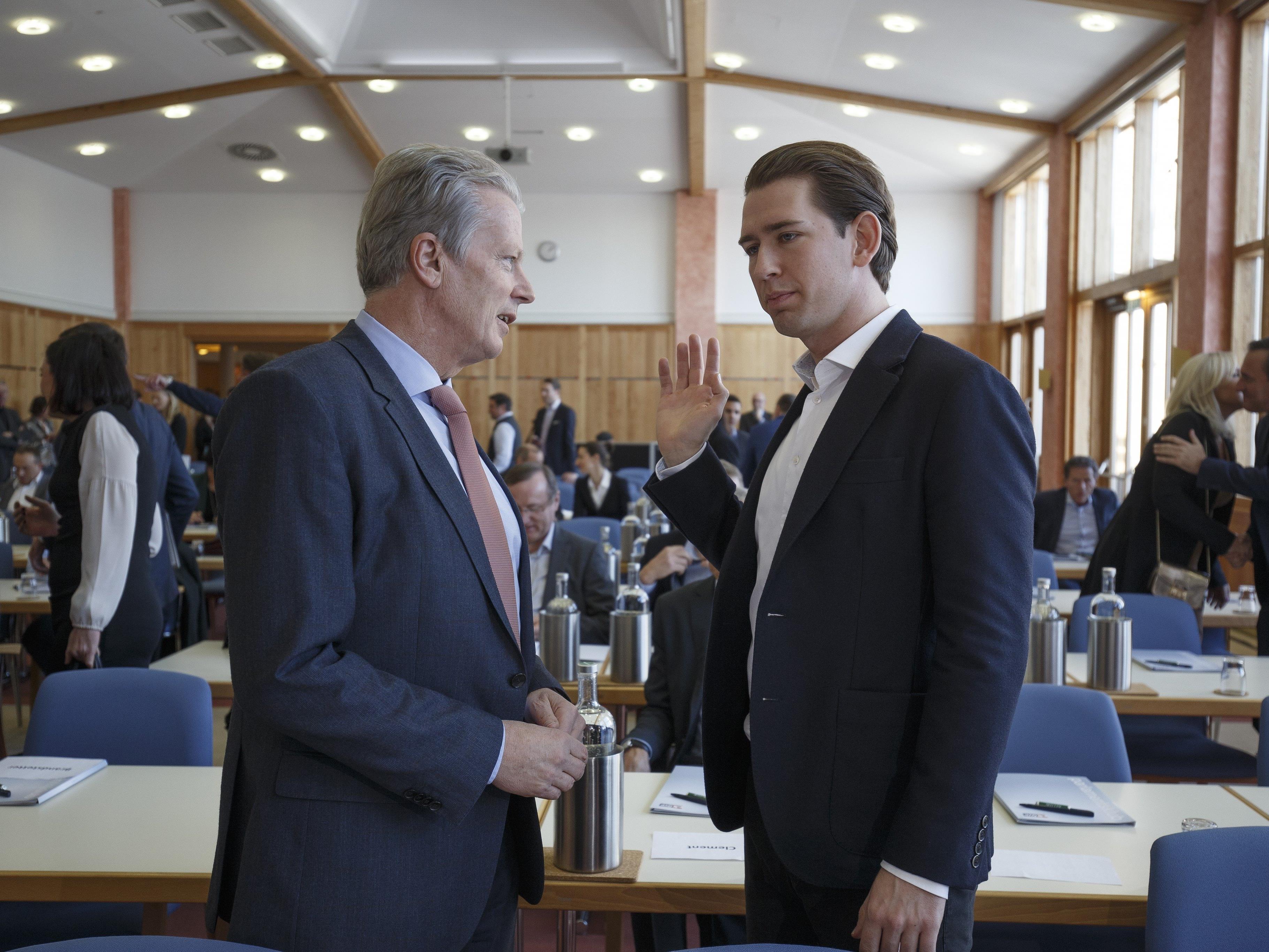 Sebastian Kurz wird als möglicher Nachfolger Reinhold Mitterlehners gehandelt