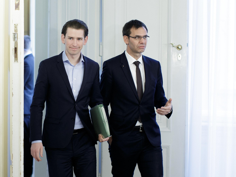 Sebastian Kurz und Markus Wallner stehen am Dienstagabend Rede und Antwort.
