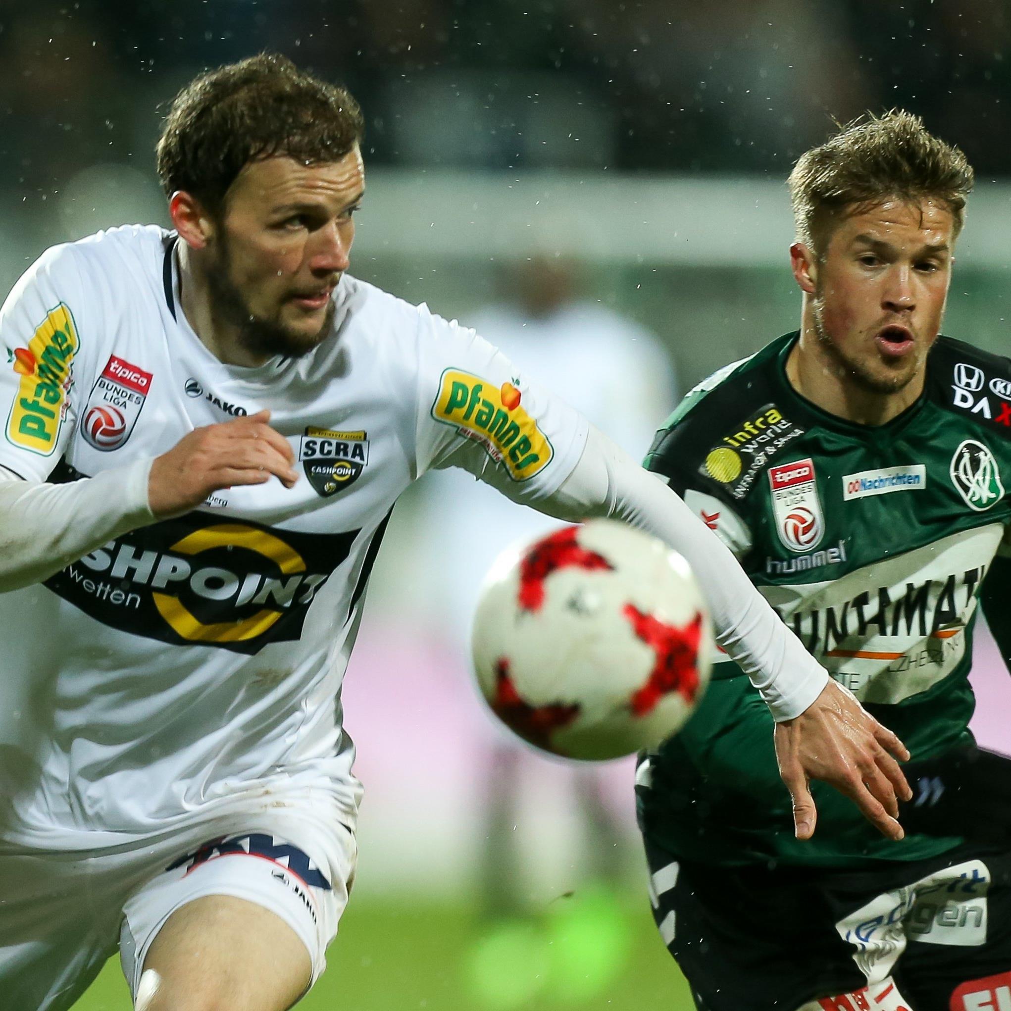 LIVE-Ticker zum Spiel SCR Altach gegen SV Ried ab 16.30 Uhr.