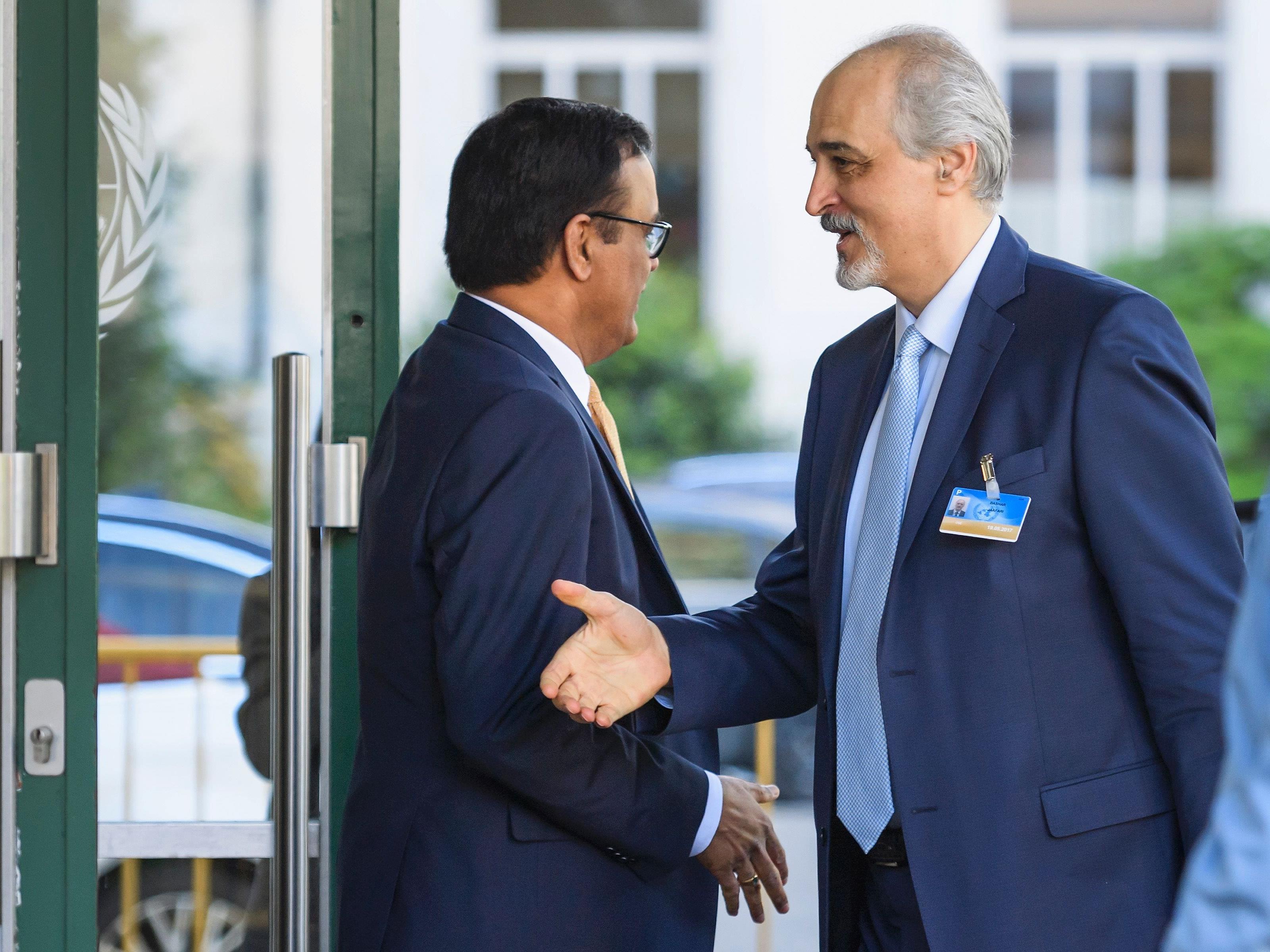 In Genf hat eine neue Runde bei den Syrien-Friedensgesprächen begonnen.