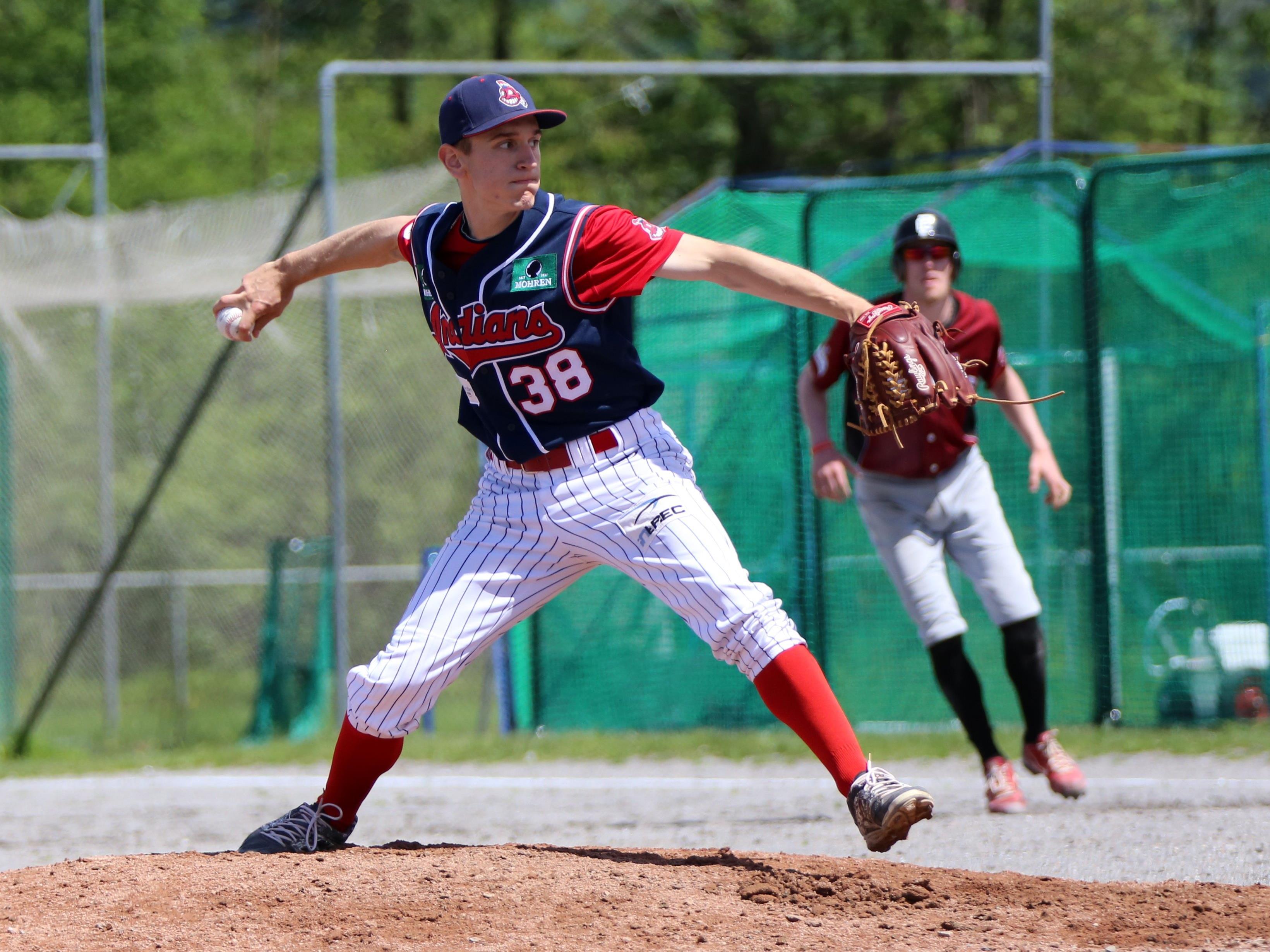 Alex Lambauer und sein Team zeigten beim ersten Baseball-Derby wieder eine hervorragende Leistung.