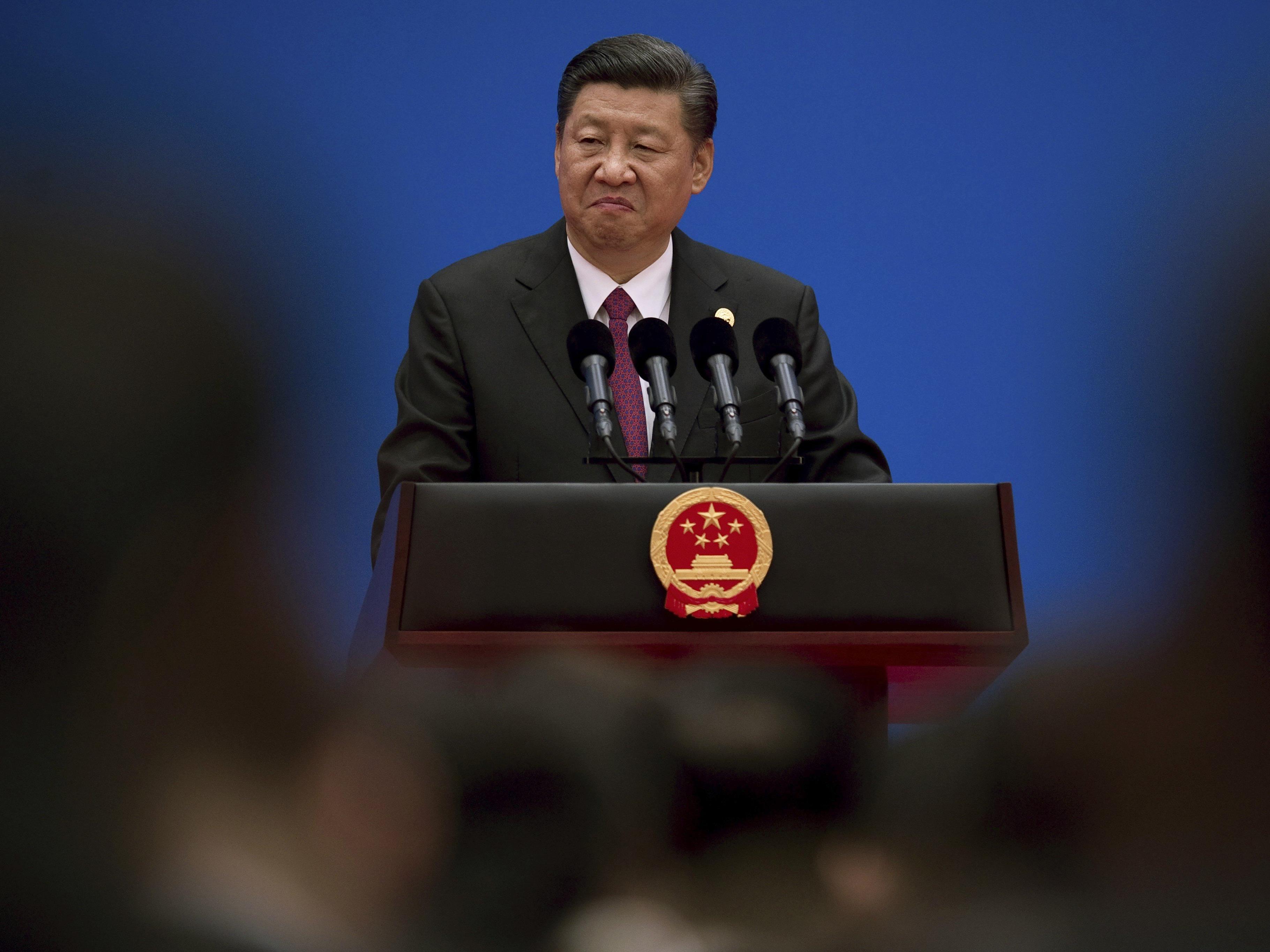 """Mit der """"Neuen Seidenstraße"""" will Präsident Xi an """"goldene Zeiten"""" der alten Handelswege anknüpfen."""