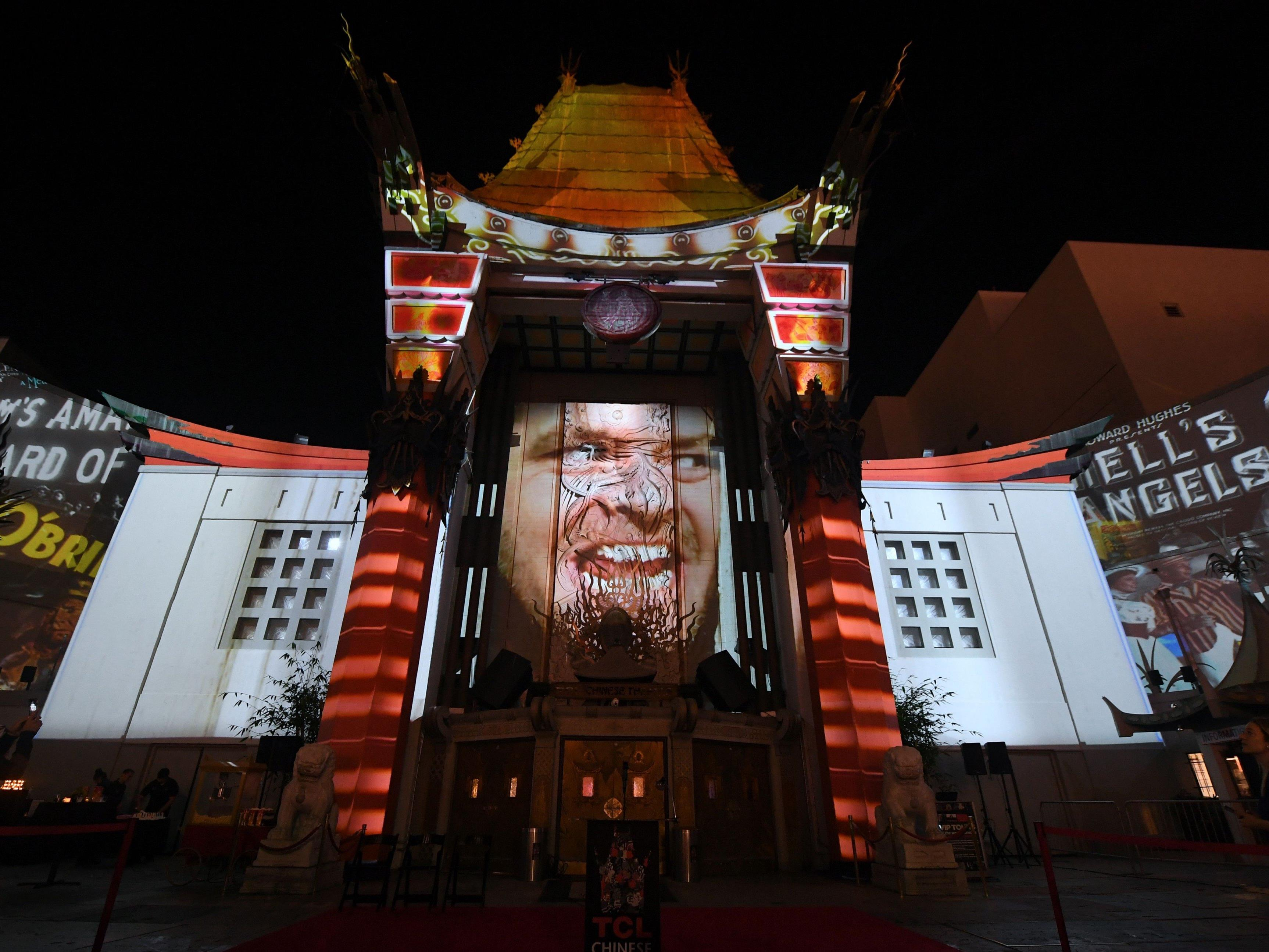 Das Chinese Theatre in Los Angeles.