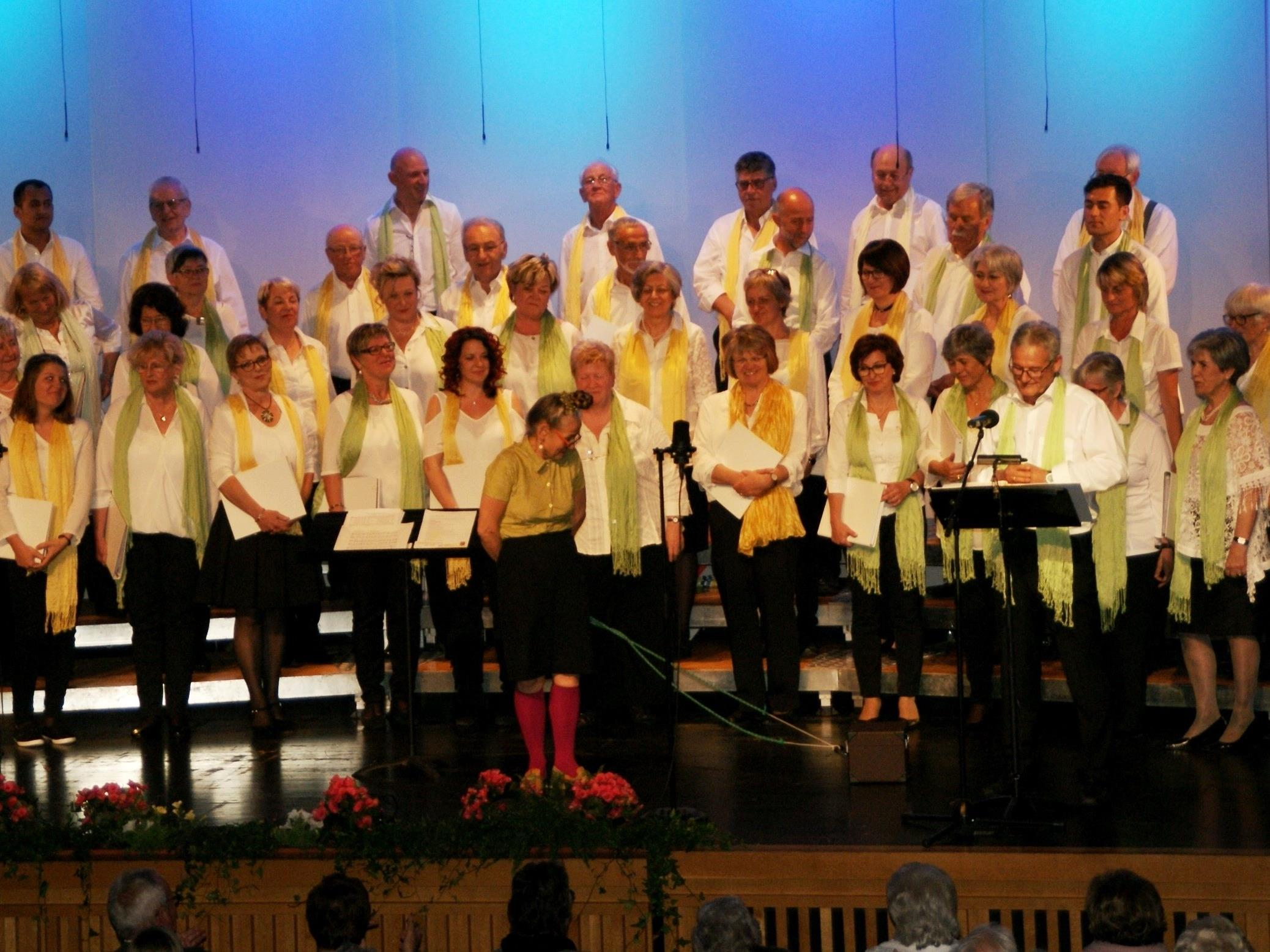 Gesangverein Konkordia feiert 160jähriges Jubiläum