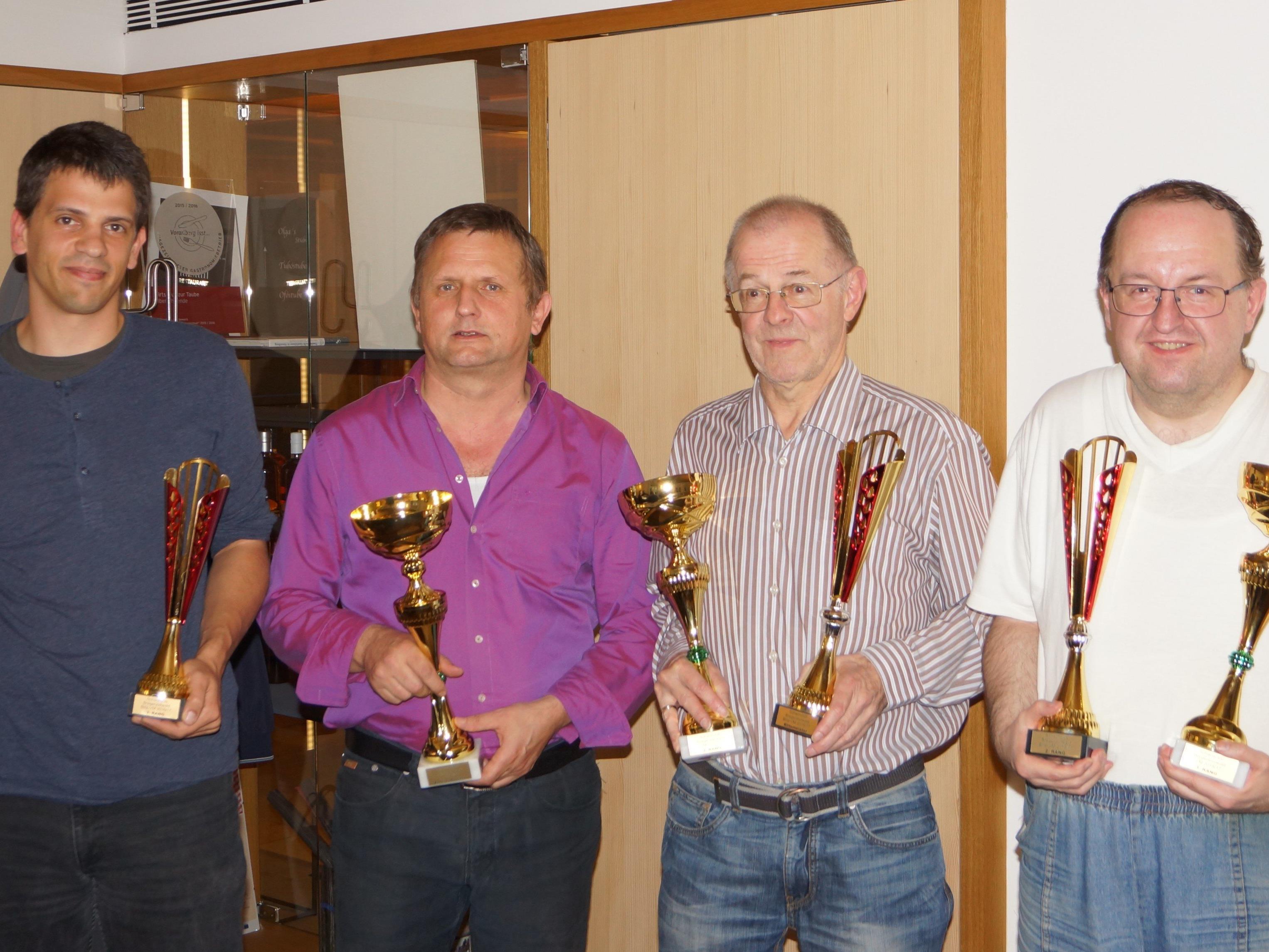 Erfolgreiche Schachspiler des SC Bregenzerwald
