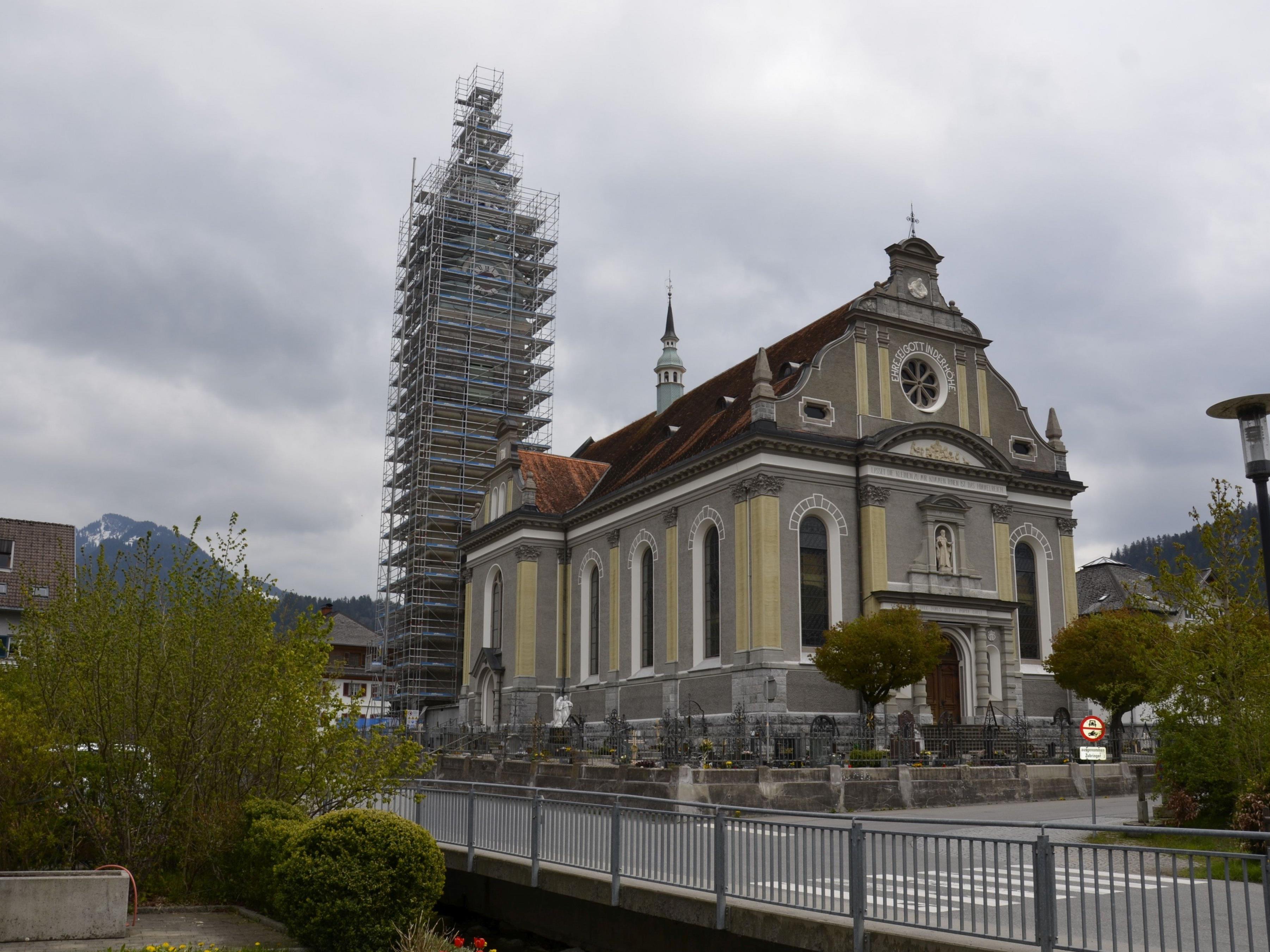 Kirchturmsanierung