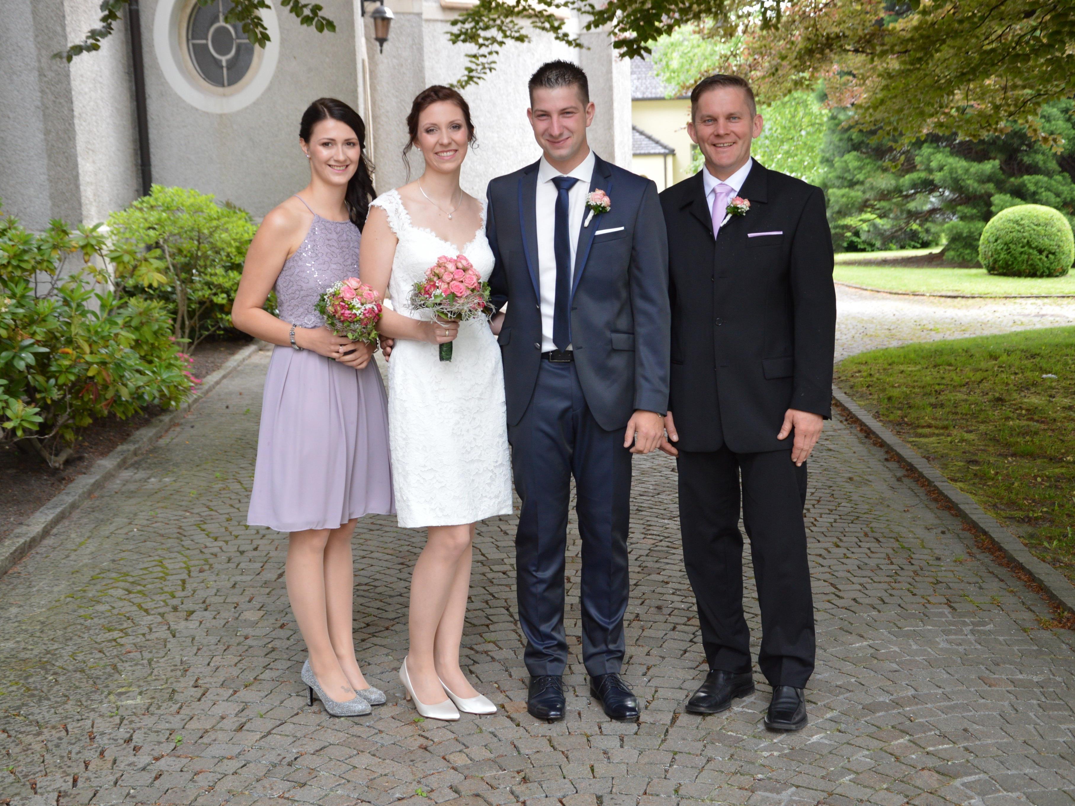 Katharina Schneider und Robert Brunner haben geheiratet
