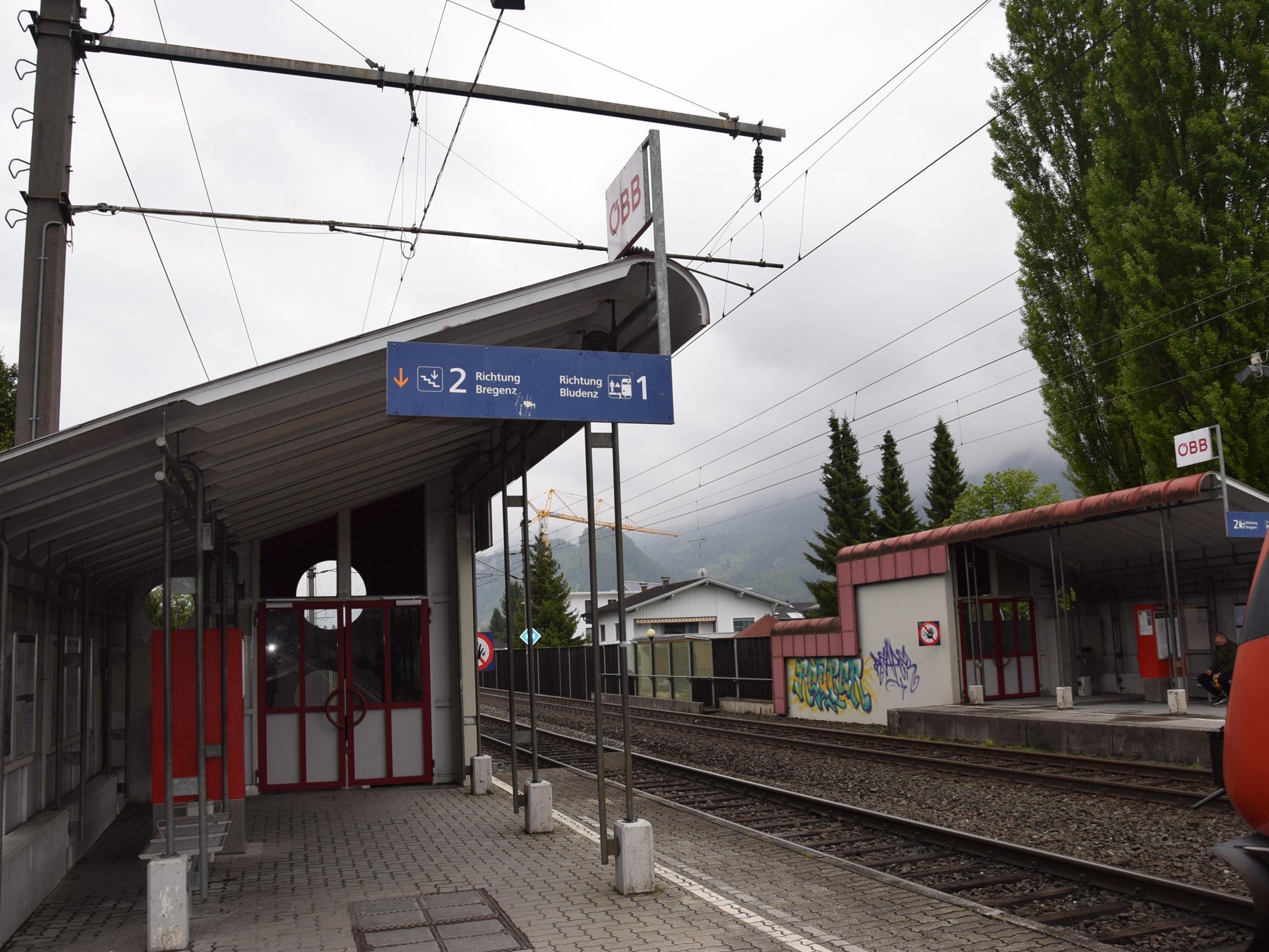 Der Bahnhof in Altach soll renoviert werden.