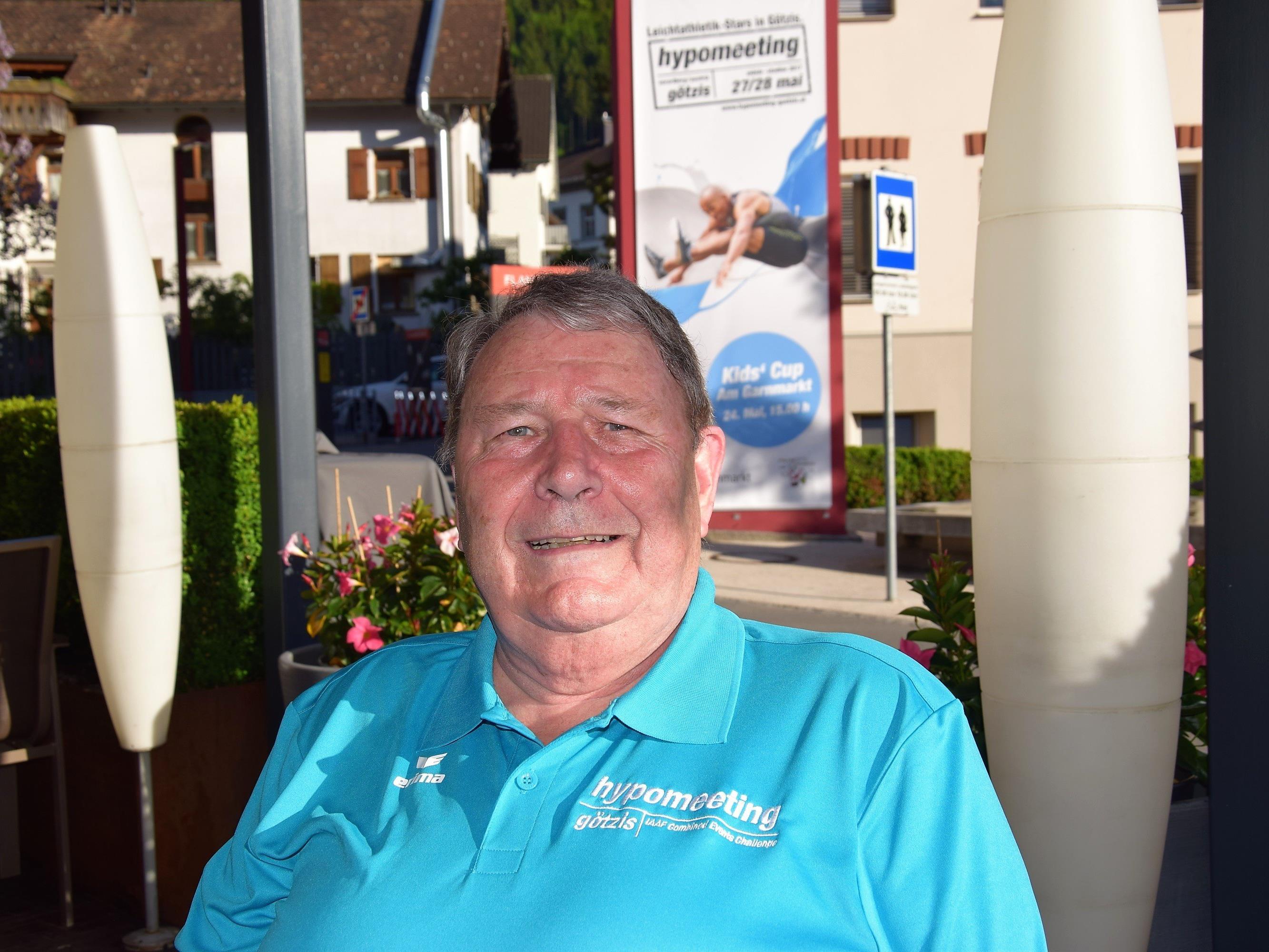 Werner Ströhle - einer der Gründungsväter des Mehrkampfmeetings in Götzis