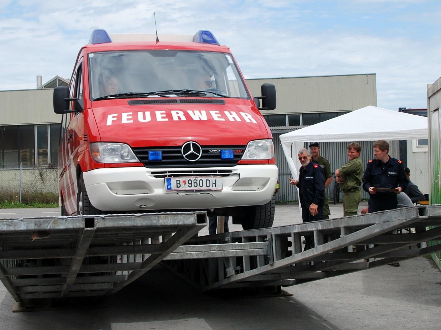 20. Feuerwehrgeschicklichkeitsfahren in Altach
