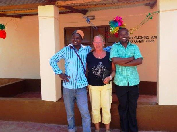 Die Feldkircherin Brigitte Dobler leistet seit vielen Jahren einen wertvollen Einsatz in Afrika.
