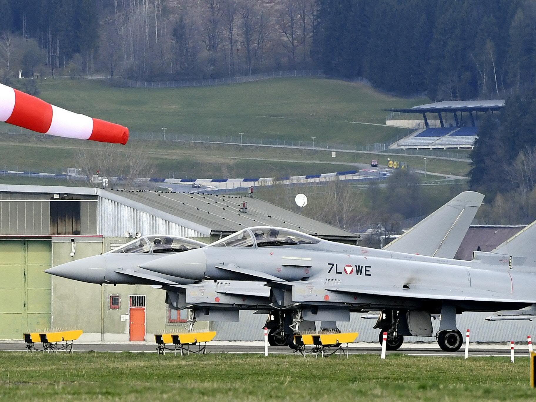Ohne US-Code bleiben die Eurofighter am Boden.