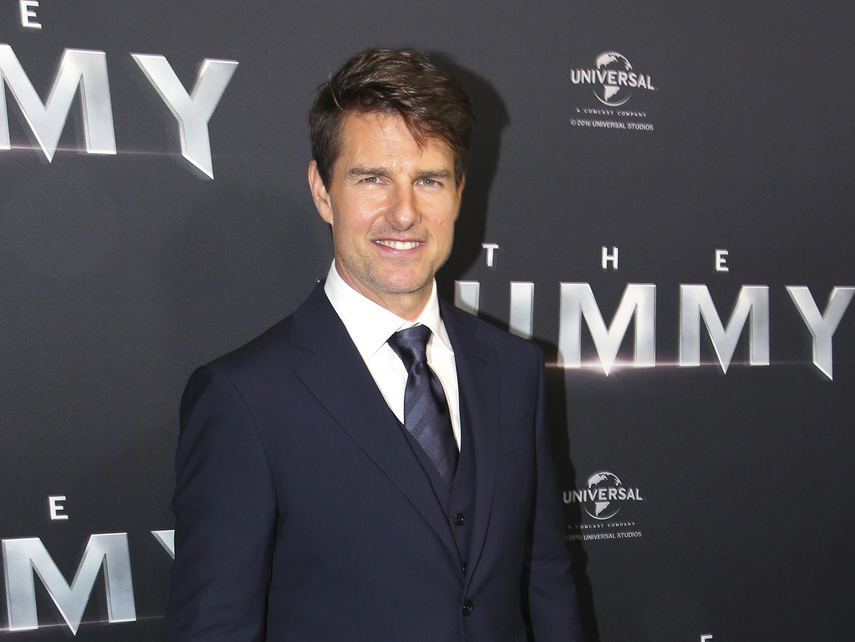 """Tom Cruise kündigt """"Top Gun 2"""" an."""
