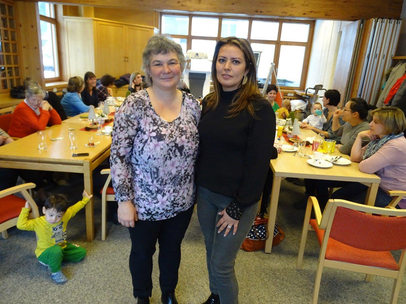 Sabine Reis und Serap Can laden zum letzten Frauenfrühstück im heurigen Frühling.