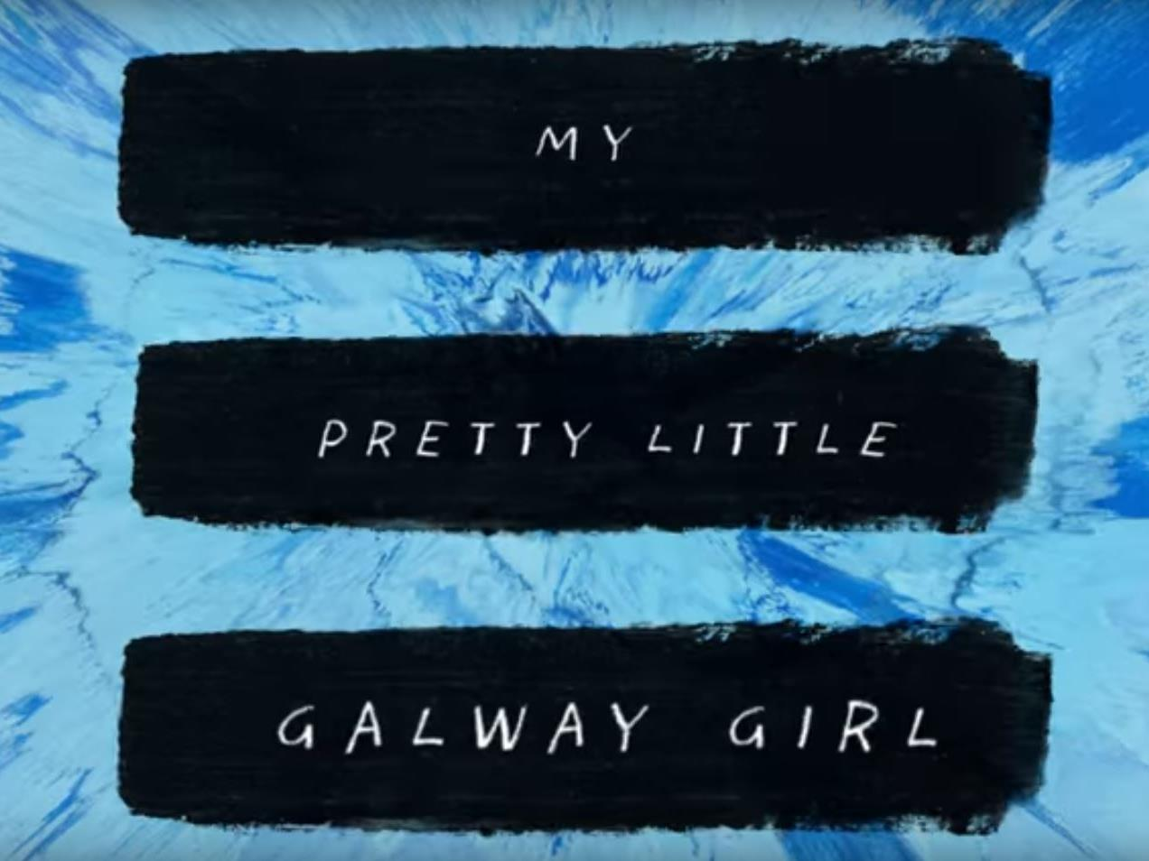 """Ed Sheeran landet mit """"Galway Girl"""" einen weiteren Hit."""