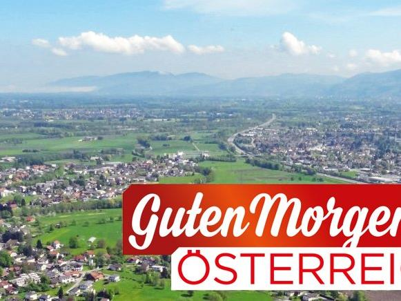 """""""Guten Morgen Österreich"""" diesen Freitag live vom Schlossplatz in Hohenems."""