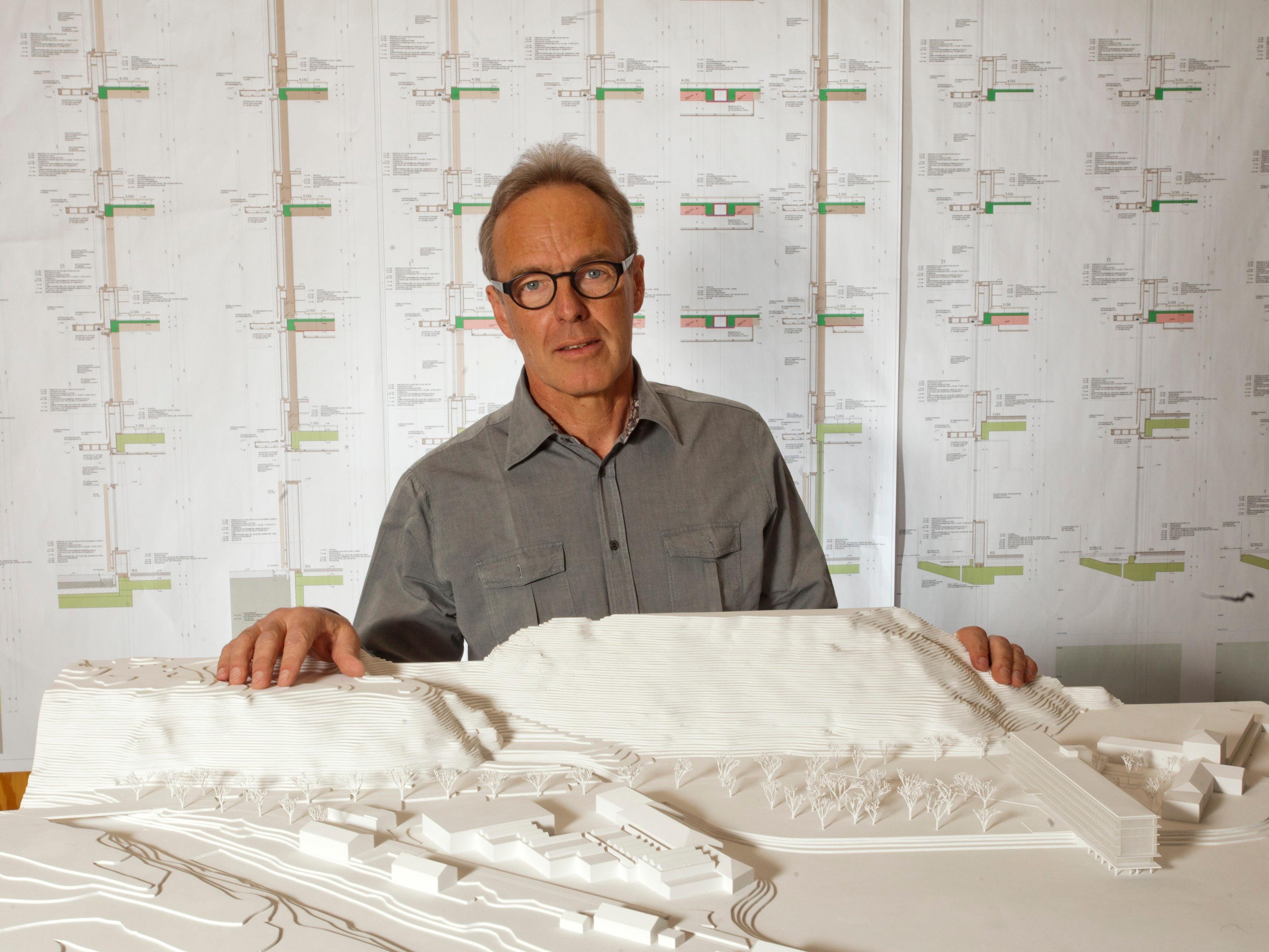 Der gebürtige Bregenzerwälder Hermann Kaufmann hat 2003 den Dr. Toni-Russ-Preis erhalten.