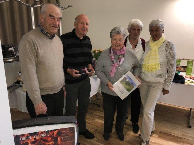 Die Sieger des Senioren Preisjassen