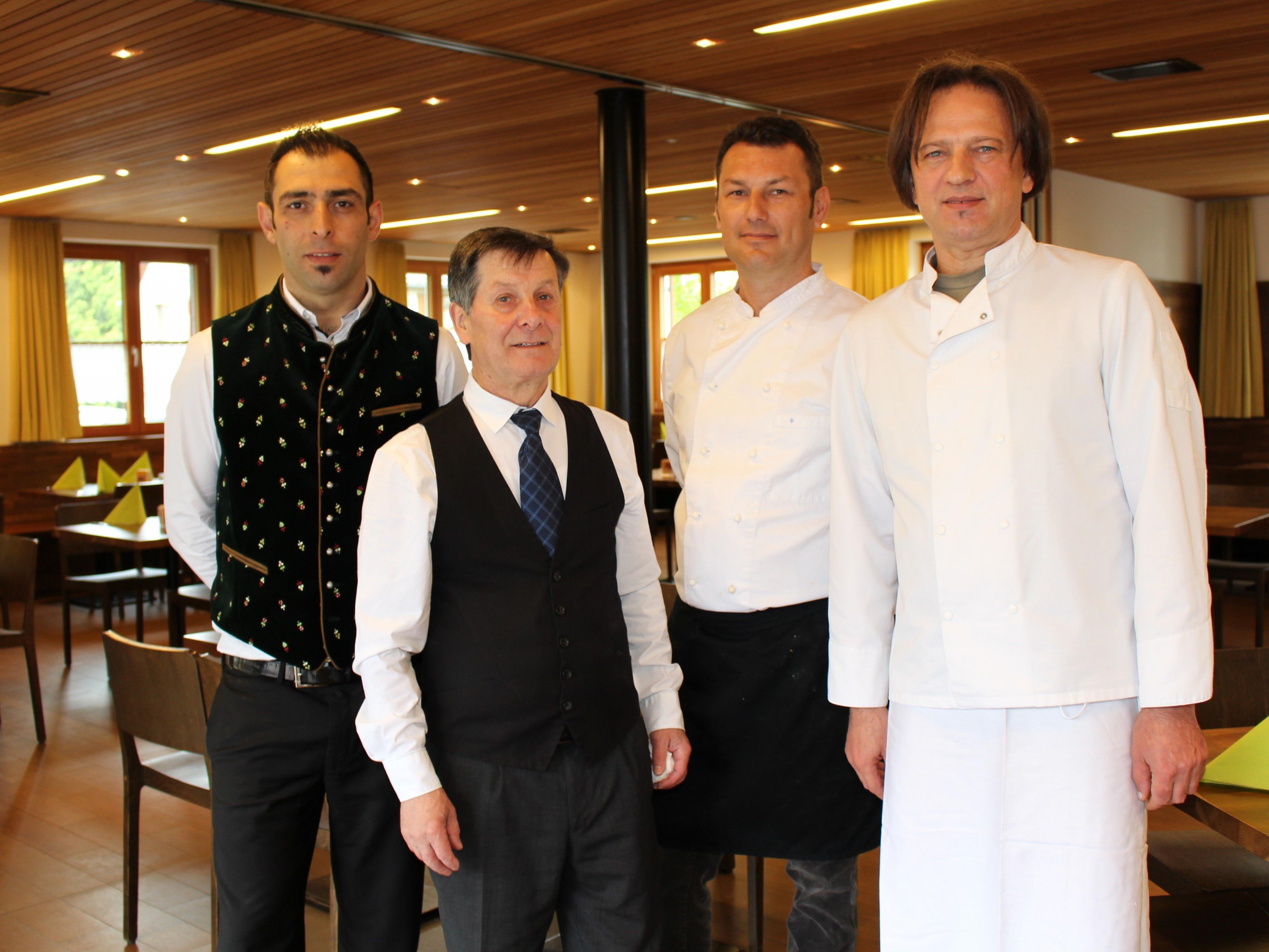 Das Traditionsrestaurant Sonne im Zentrum von Frastanz hat wieder geöffnet.