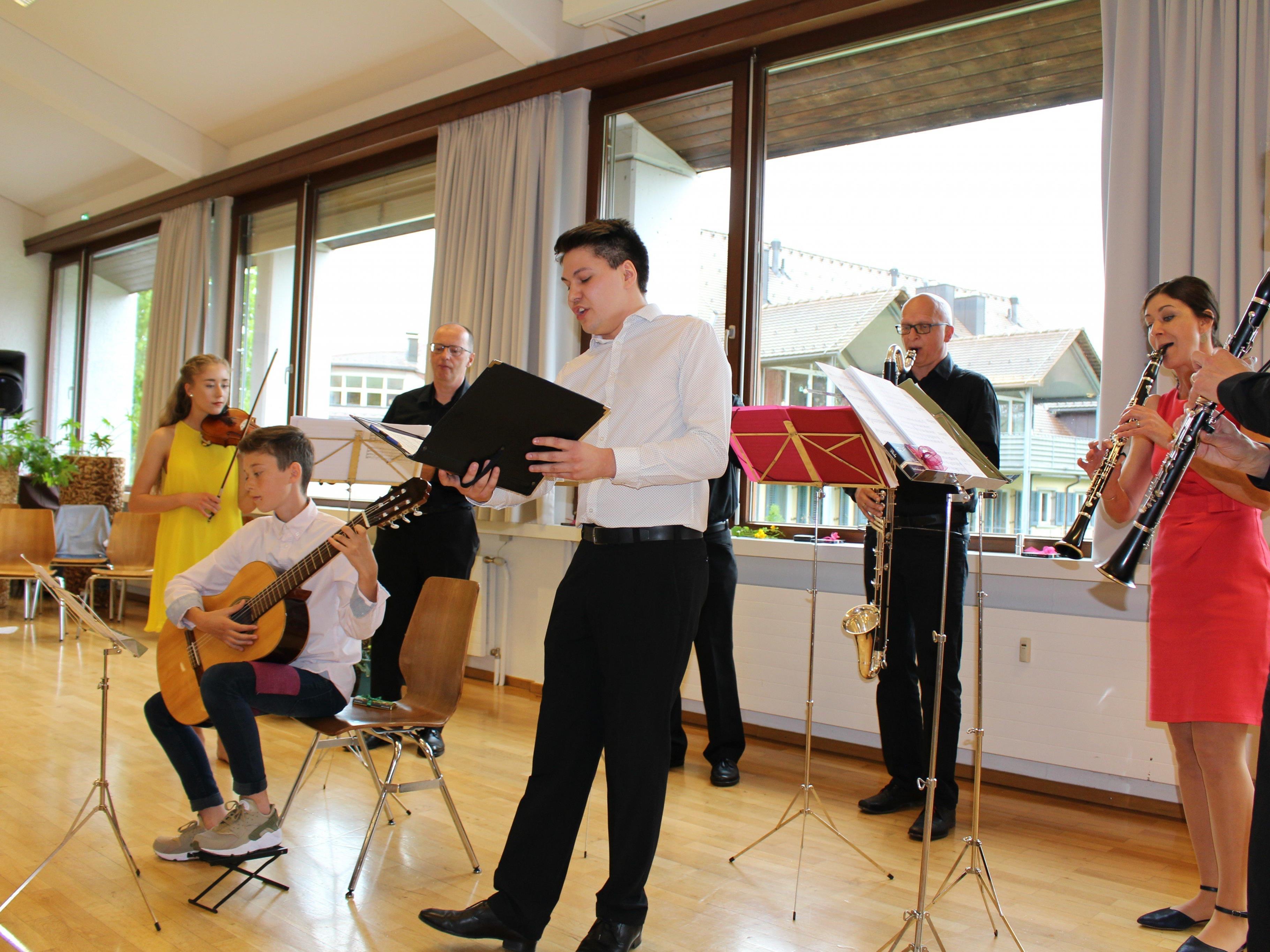 Johannes Schmid, das Scorzonera Quartett und die Familie Berthold begeisterten das Publikum.