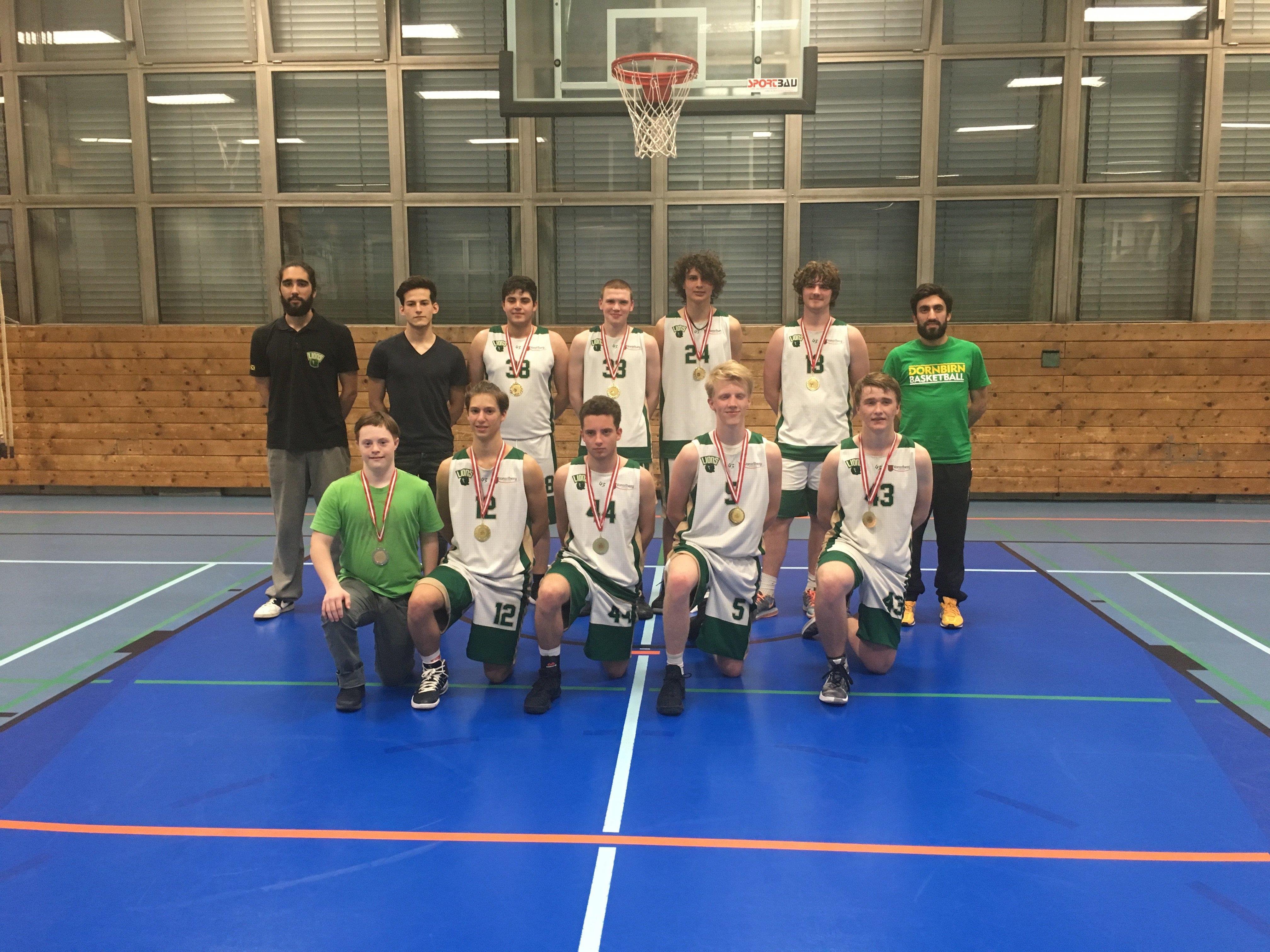 Die U19 der Dornbirn Lions scheint heuer unschlagbar und feierte bereits den 13. Sieg in Folge.