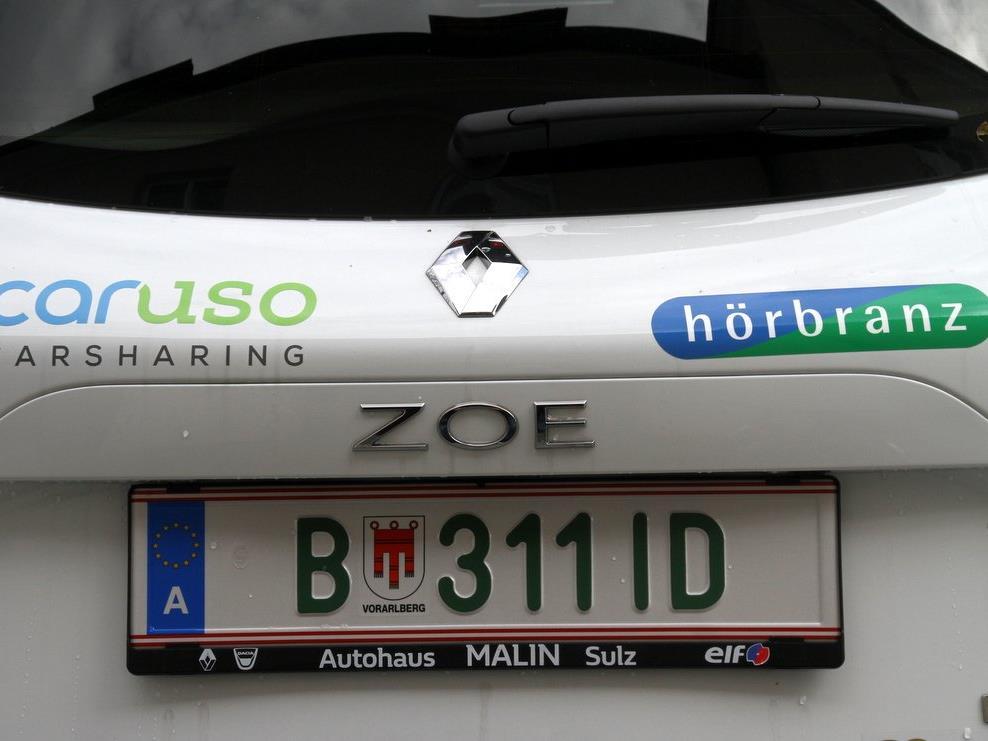 E-Auto in Hörbranz