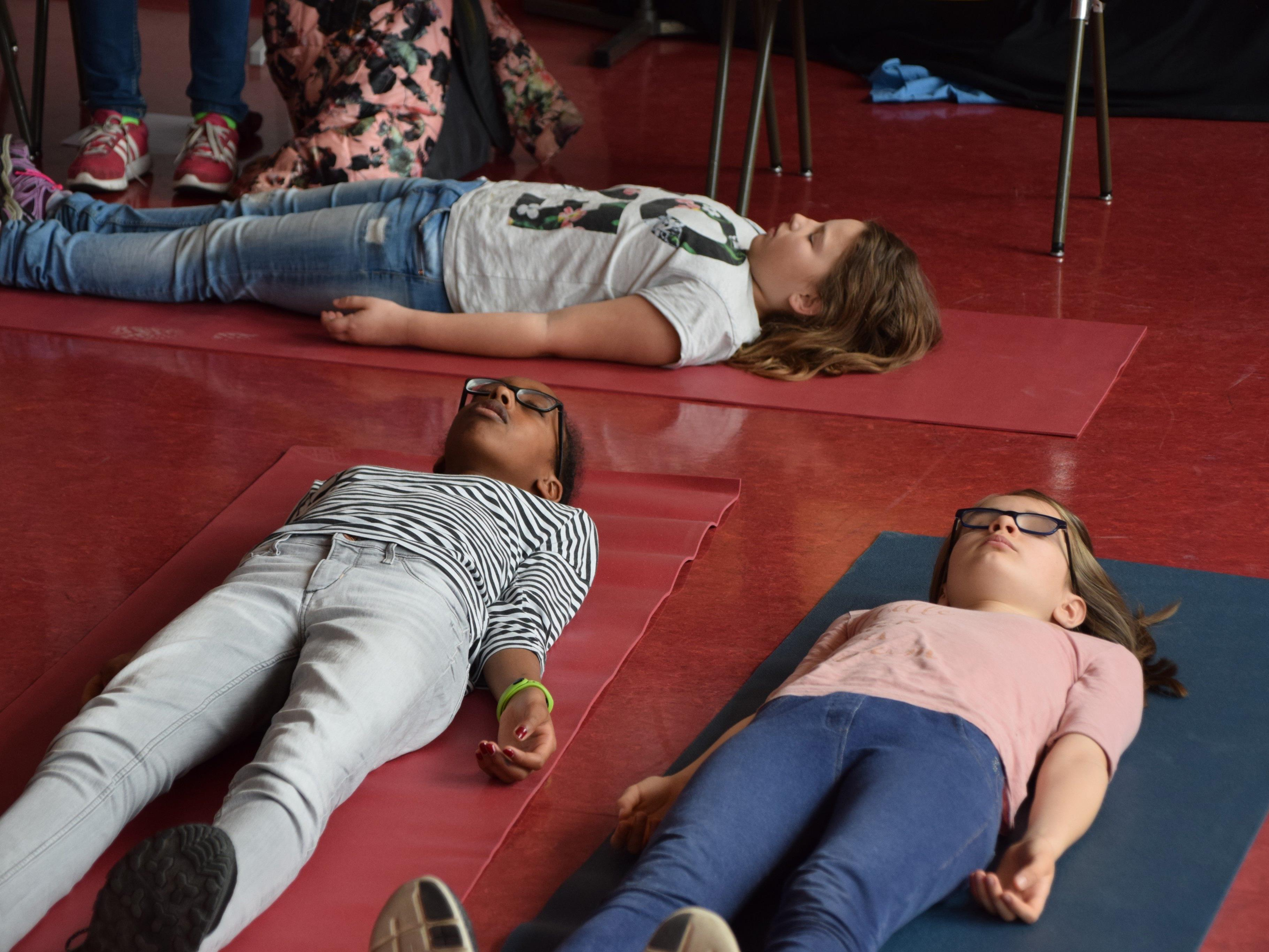 Beim Training werden die zwölfjährigen Schüler dreimal pro Woche begleitet.