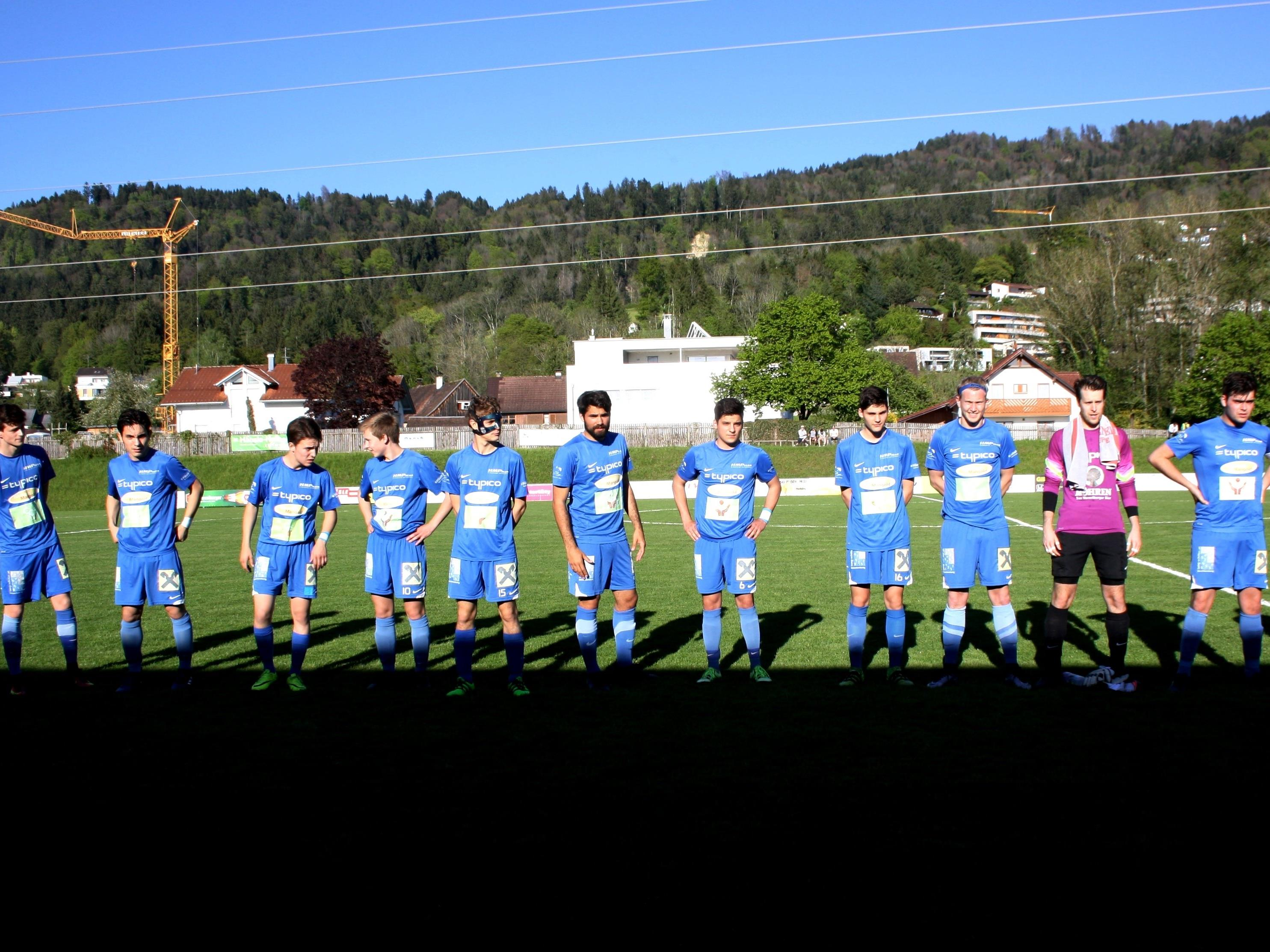 Die höchst erfolgreichen Nachwuchsspieler des SV Typico Lochau 1b spielen bereits um 14.45 Uhr im Stadion am Hoferfeld gegen Altach 1b.